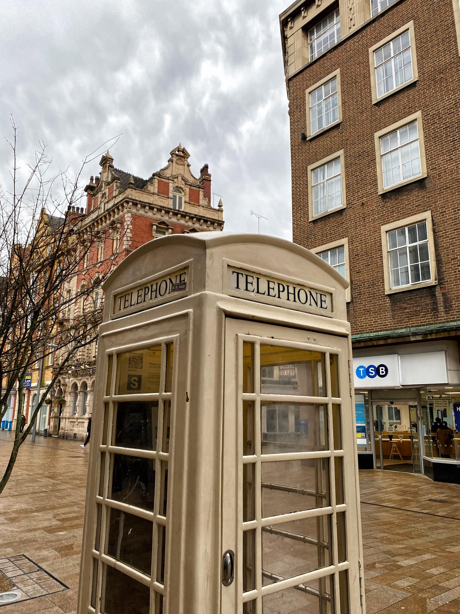Stedentrip Hull - Telefooncel