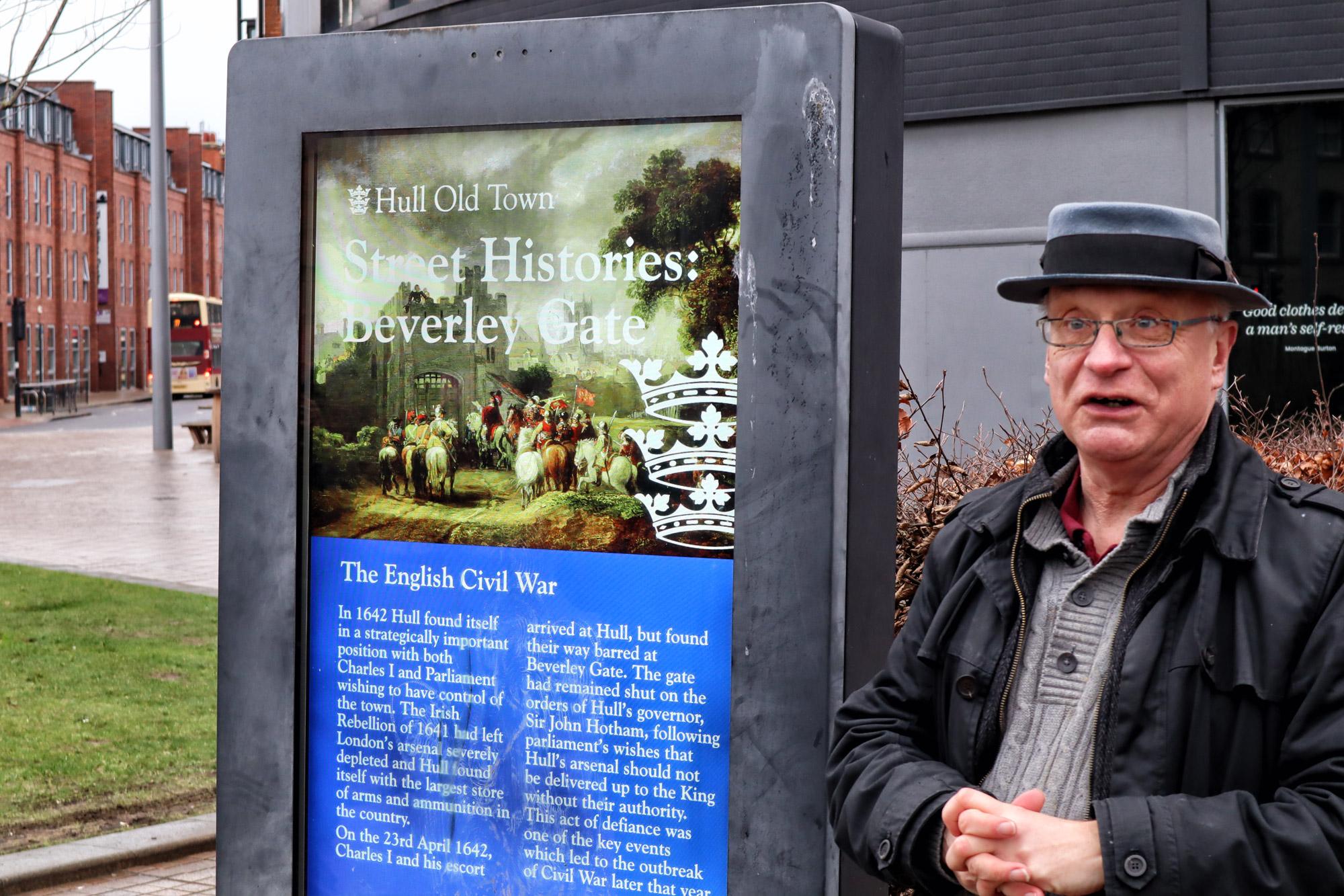 Stedentrip Hull - Stadswandeling met Paul Schofield
