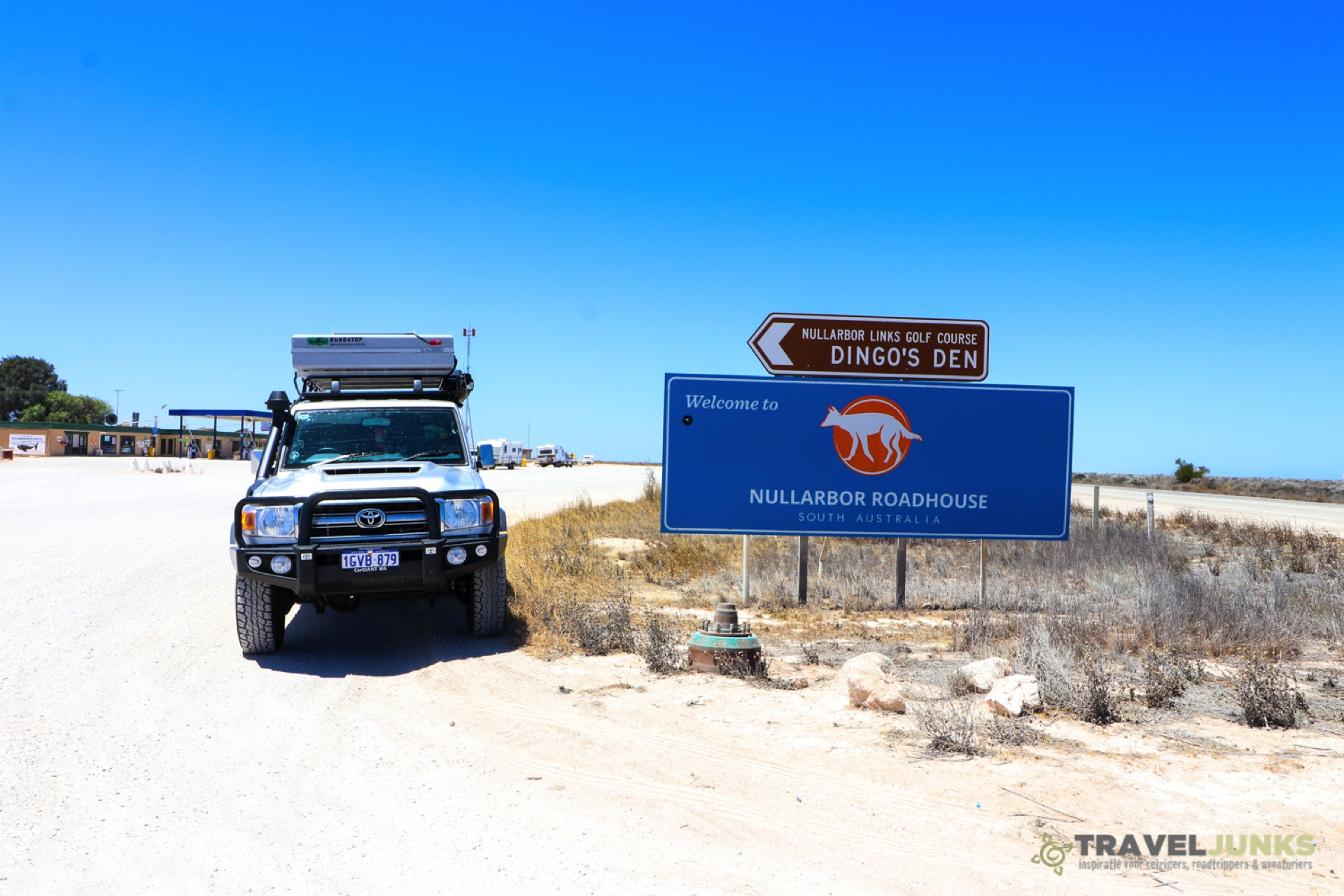 Traveljunks - Nullarbor