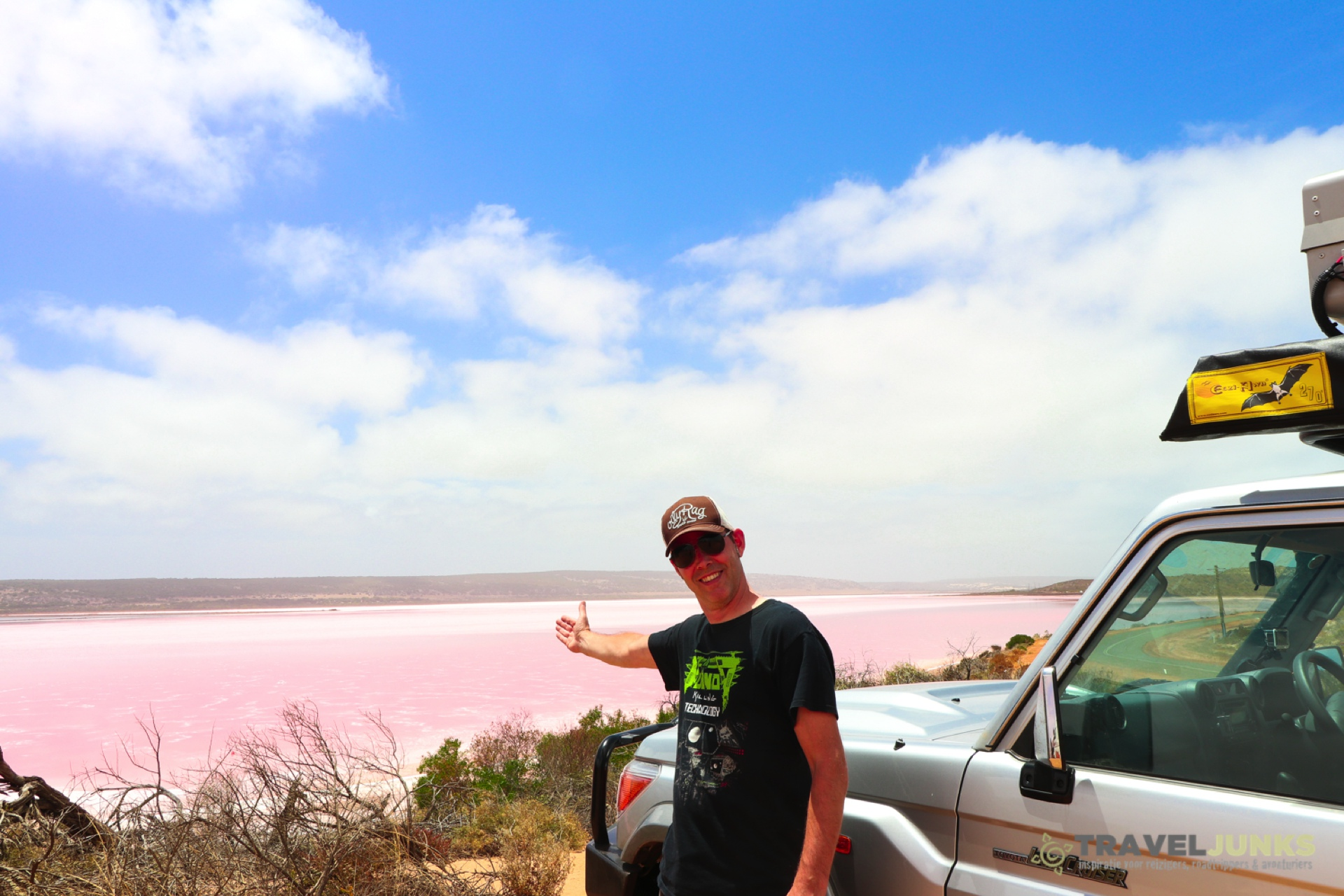 Traveljunks - Pink Lake
