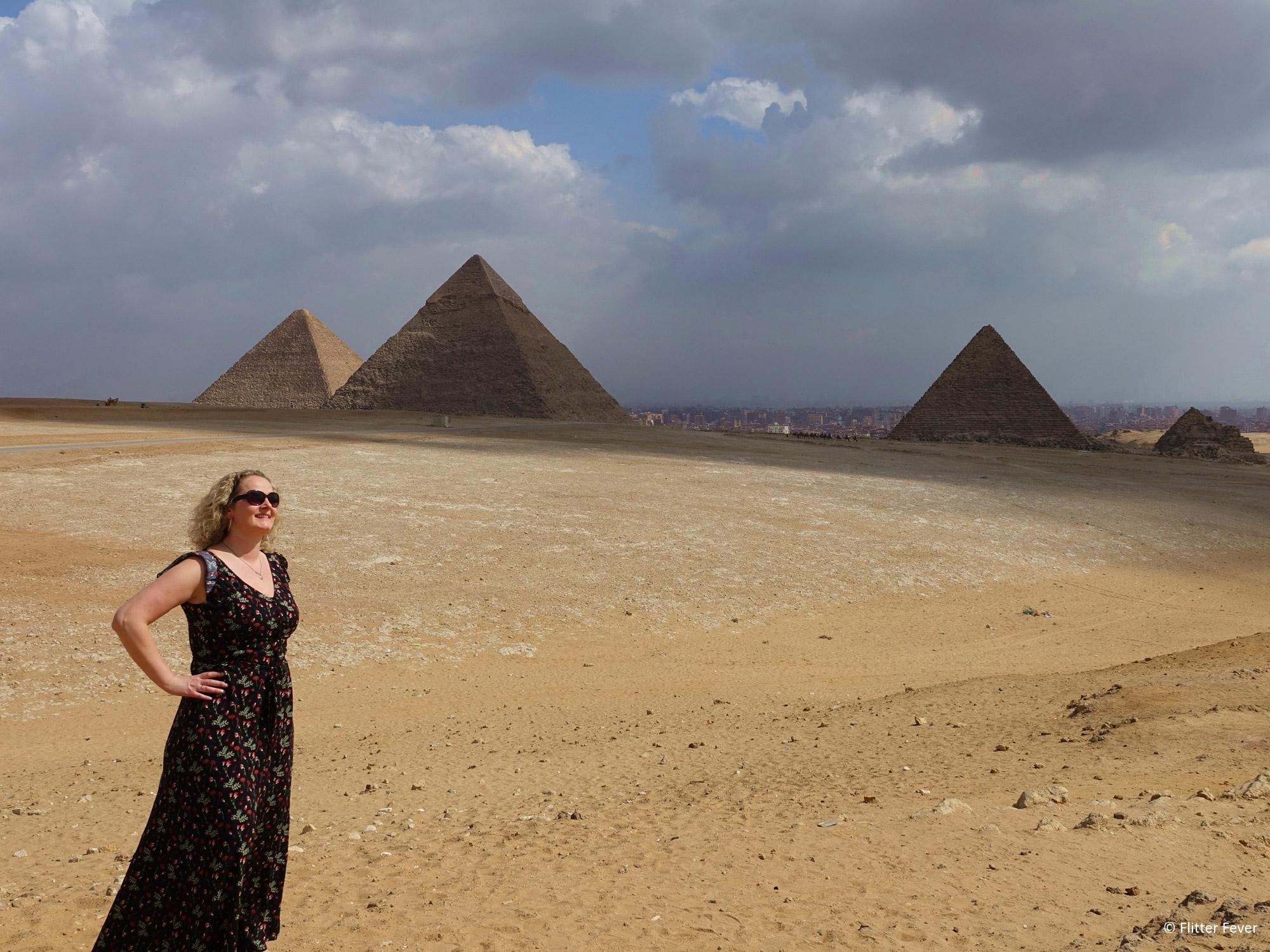 Flitter Fever - Giza piramides van Egypte