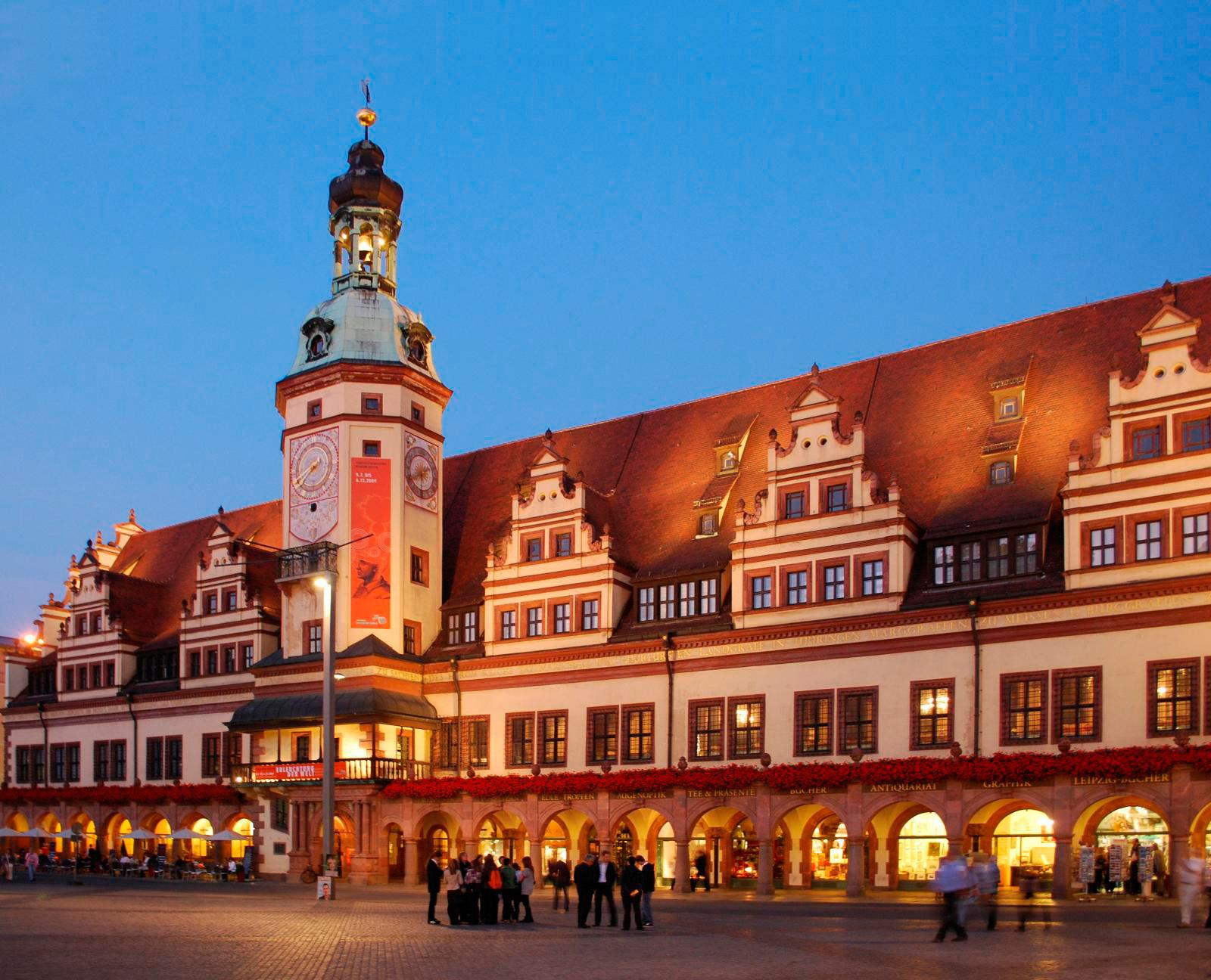 De mooiste steden in Saksen - Leipzig