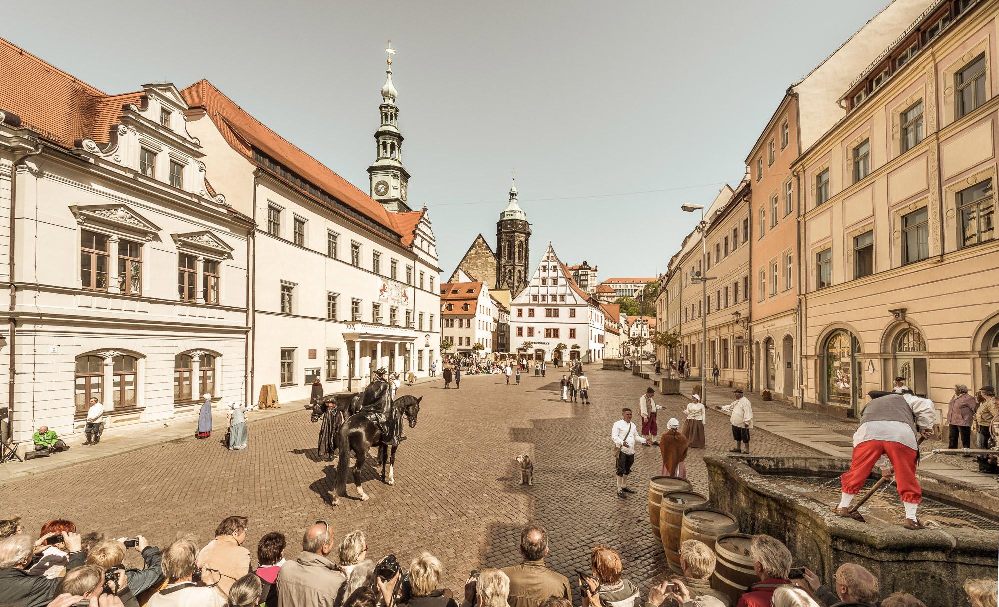 De mooiste steden in Saksen - Pirna