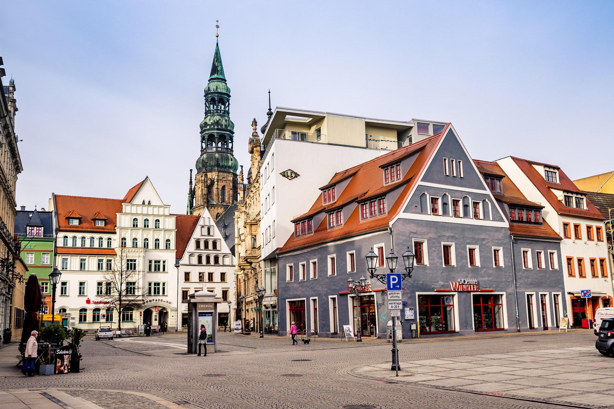De mooiste steden in Saksen - Zwickau