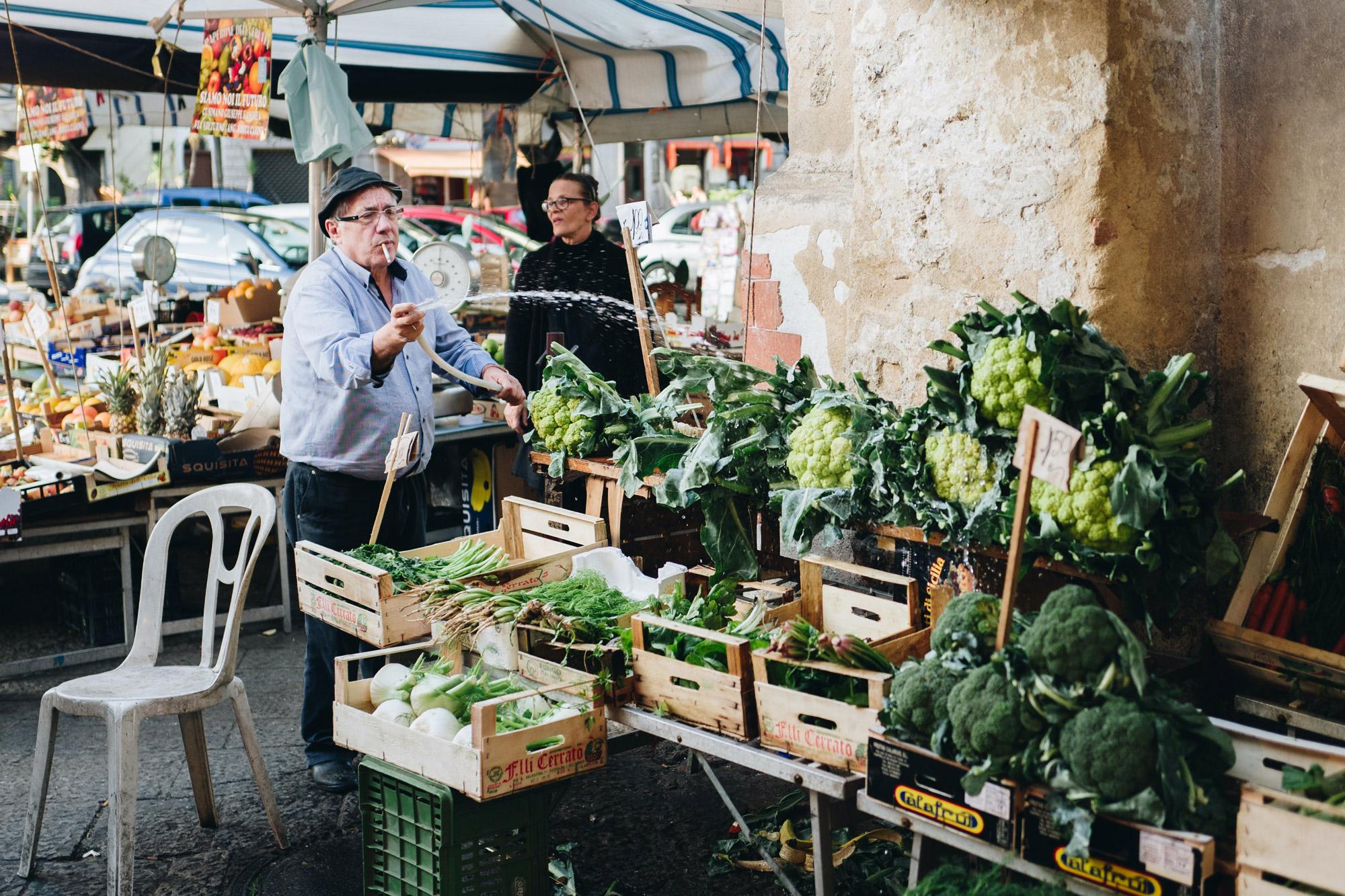 Markt in Palermo