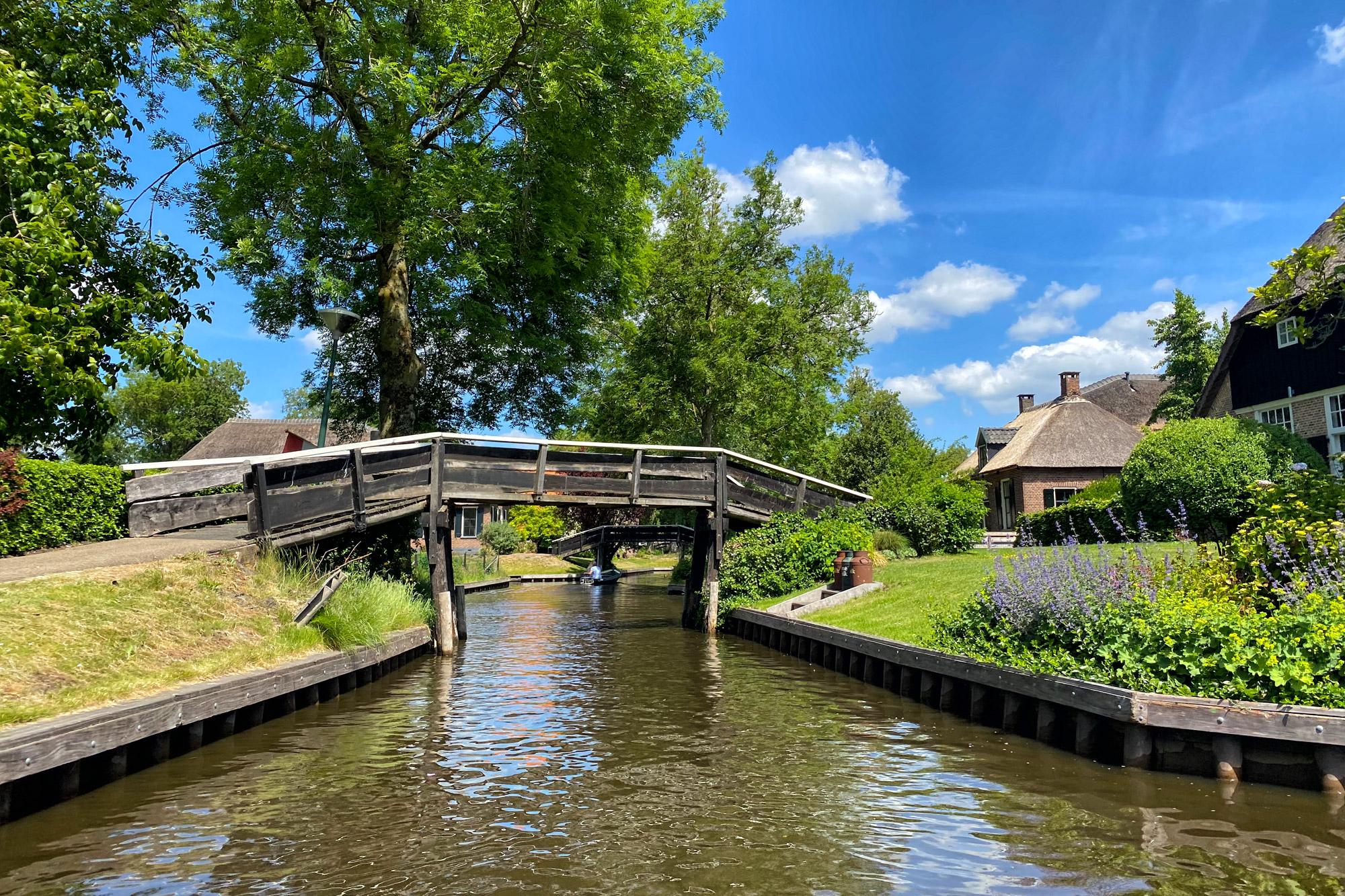 Reisverslag Weerribben-Wieden - Giethoorn