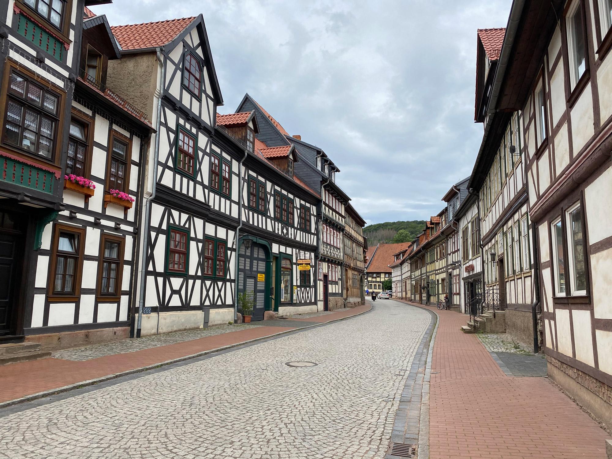 Tsjechië reis - dag 1 - Stolberg