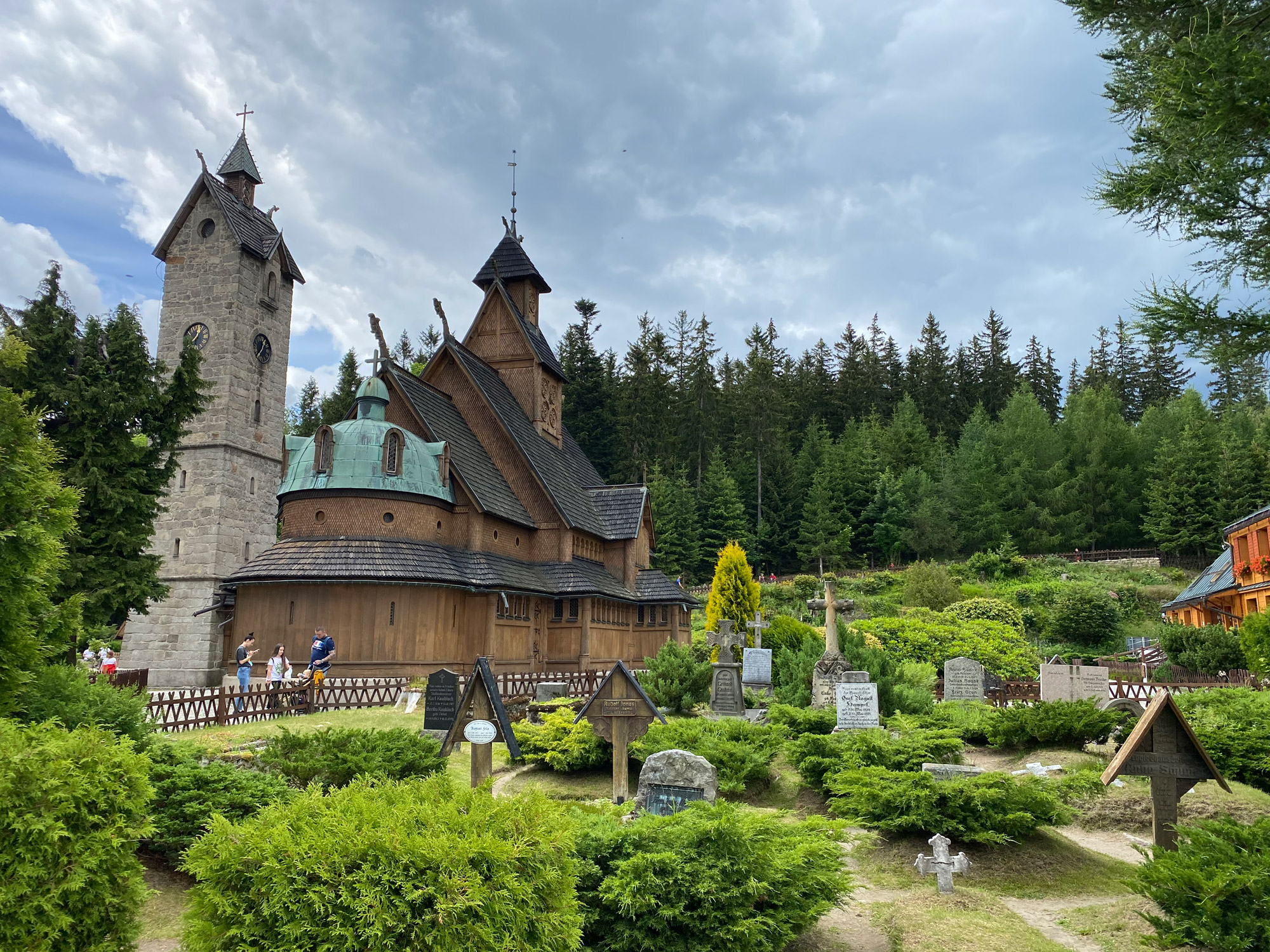 Tsjechië reis - dag 12 - Wangkerk