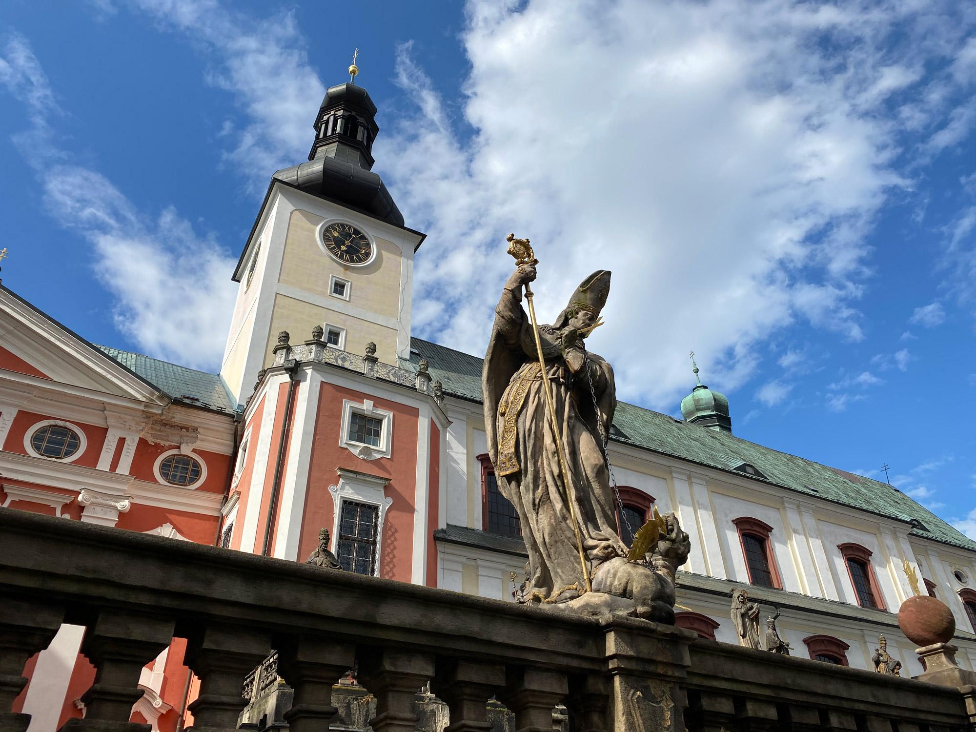 Tsjechië reis - dag 13 - Klooster van Broumov