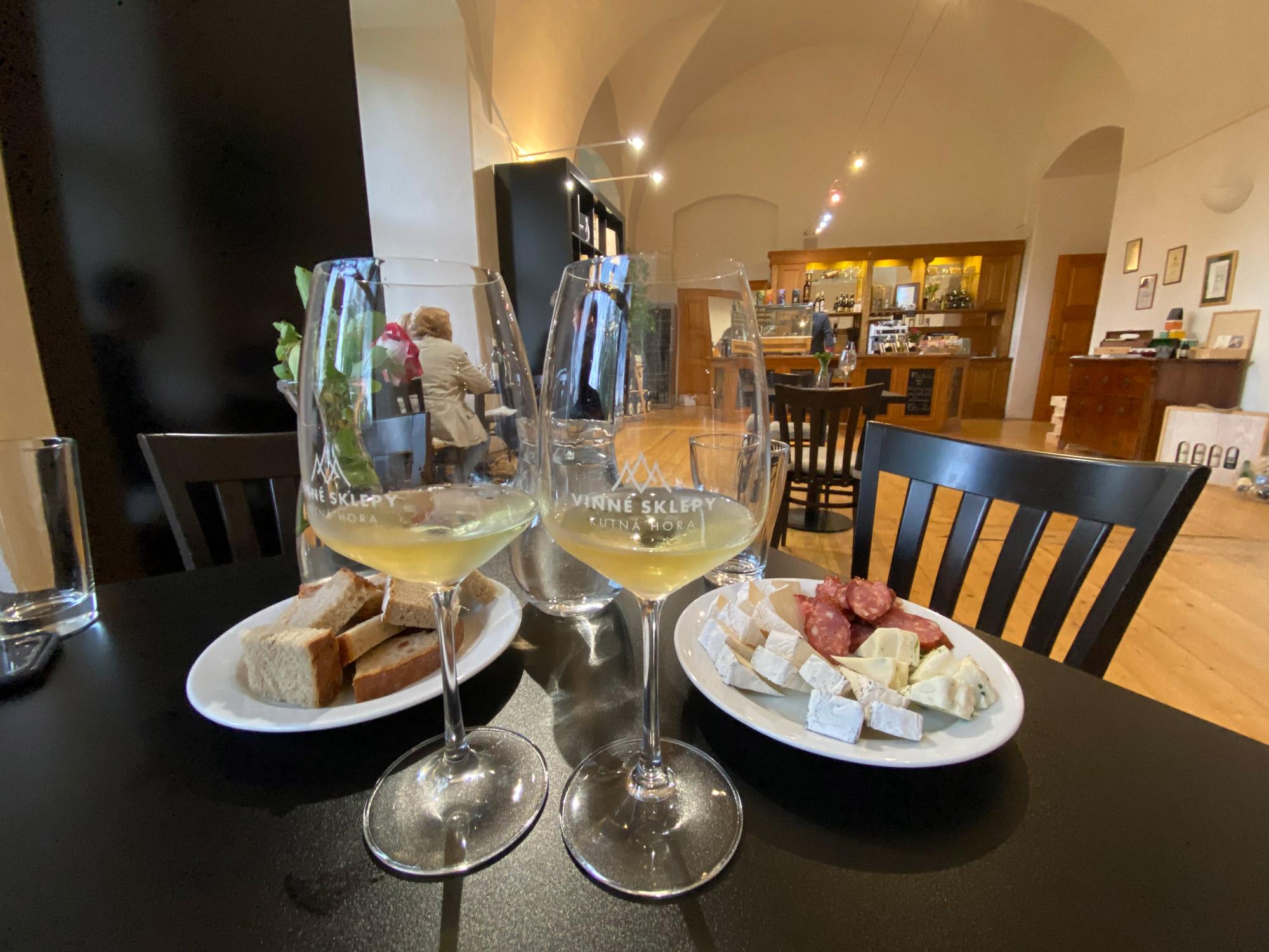 Tsjechië reis - dag 14 - Wijnproeverij in Kutna Hora