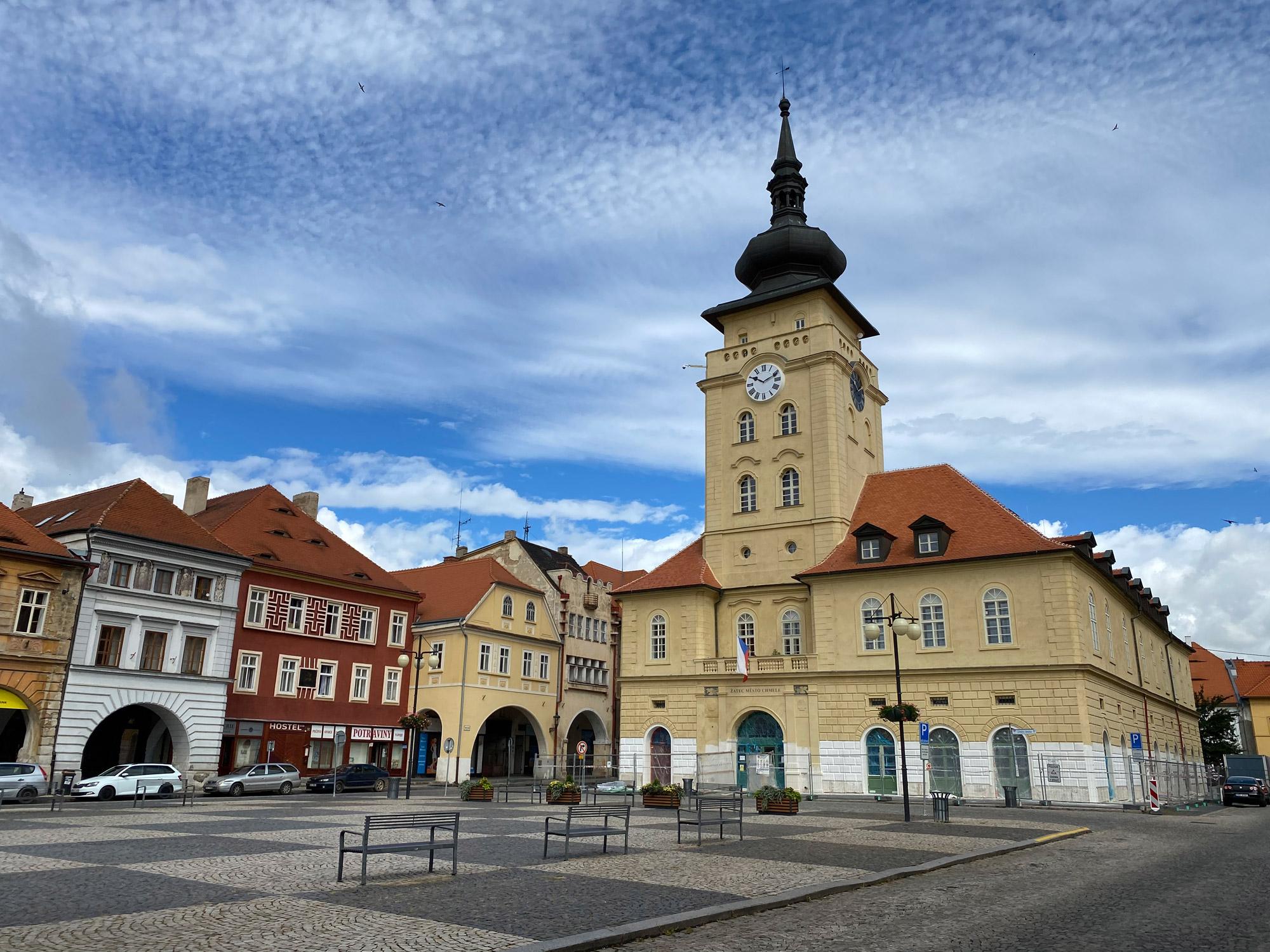 Tsjechië reis - dag 3 - Zatec