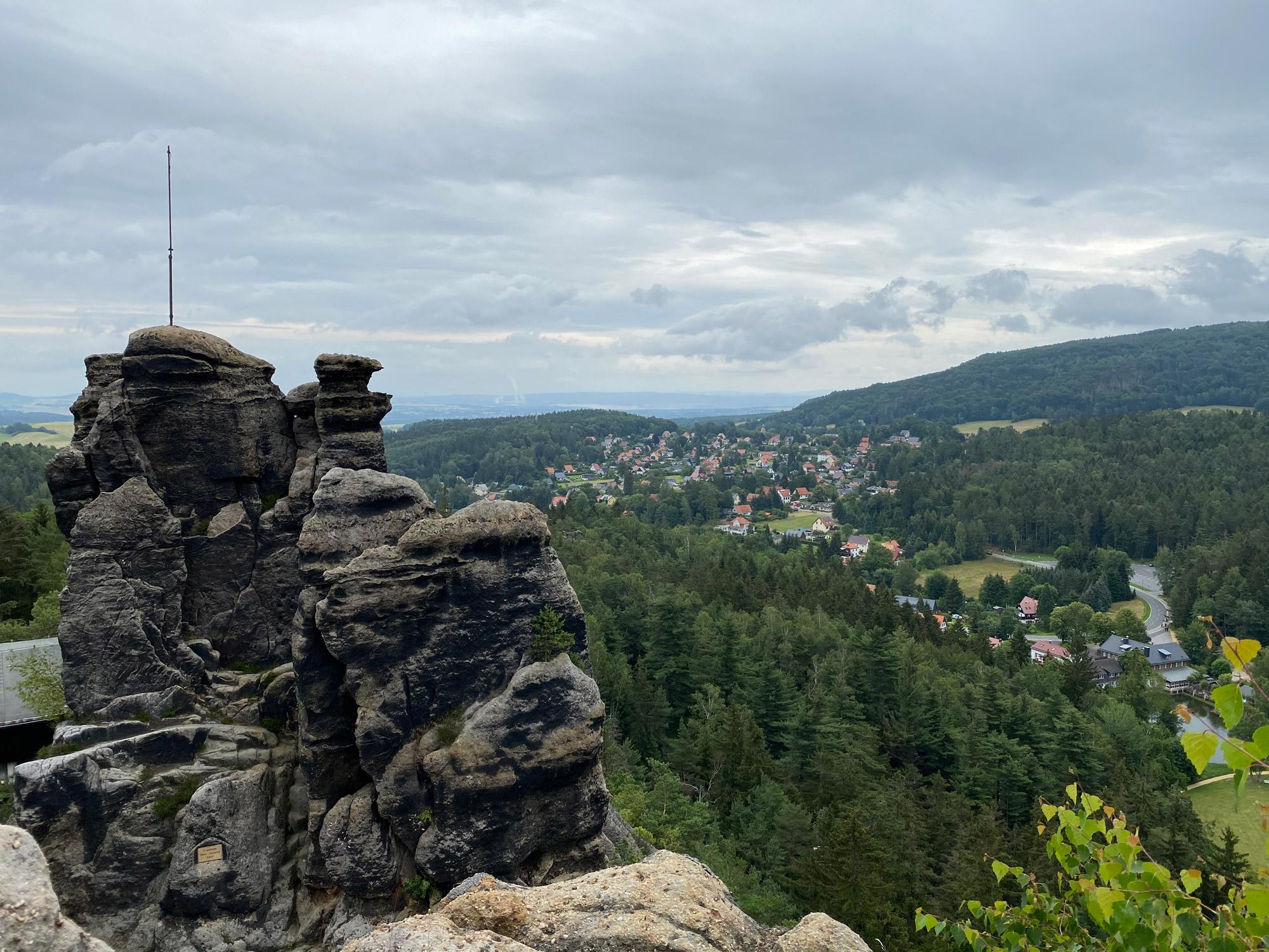 Tsjechië reis - dag 5 - Luzicke Hory en Zittauer Gebirge