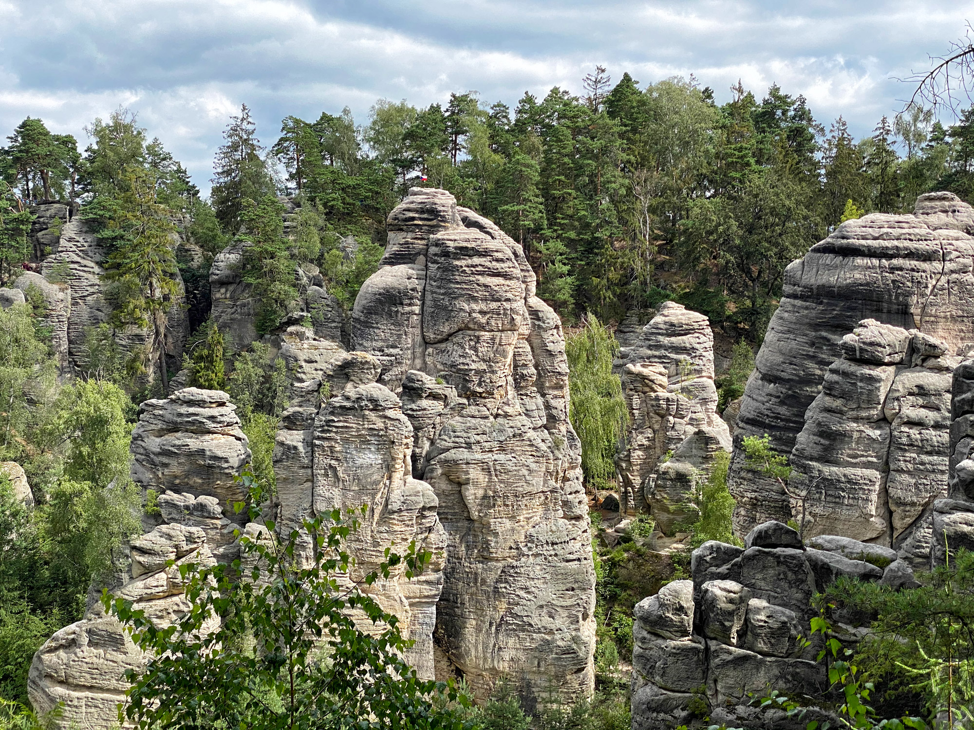 Rotsen van Prachov - Tsjechië