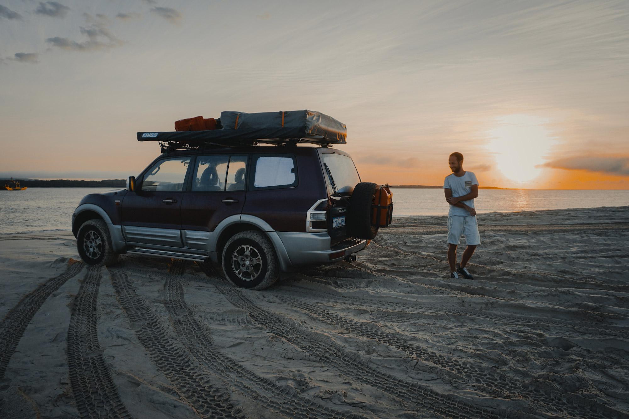 Shamira en Niels - Fraser Island