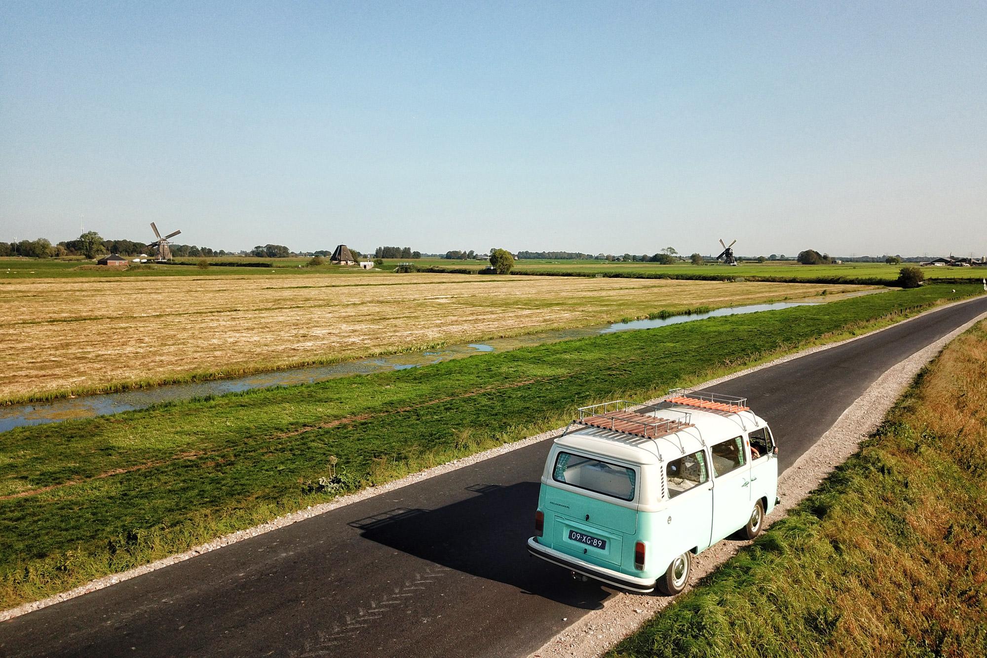 Een dagje toeren in een Volkswagen busje
