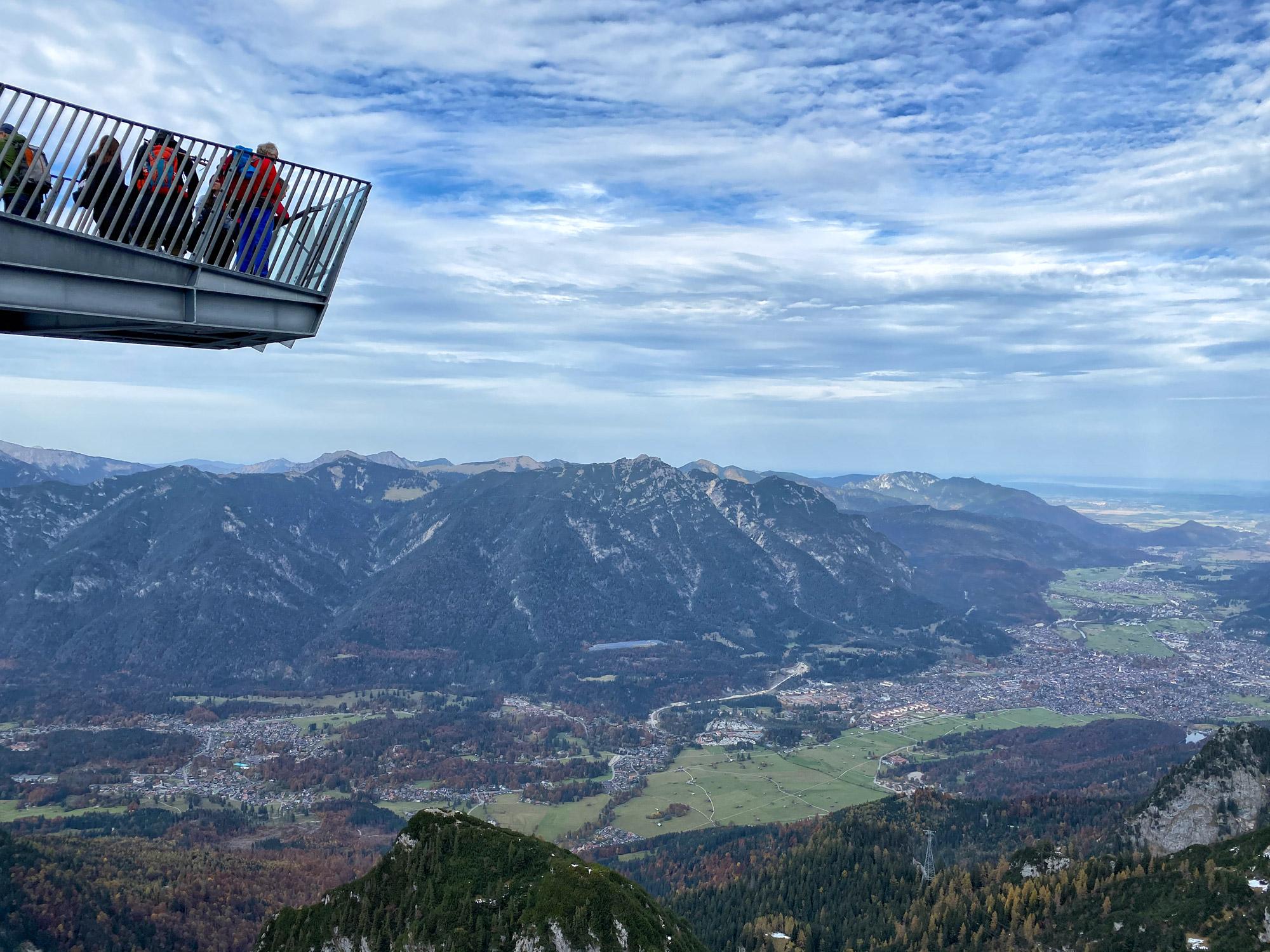 3 dagen in Zuid-Beieren - Alpspitze