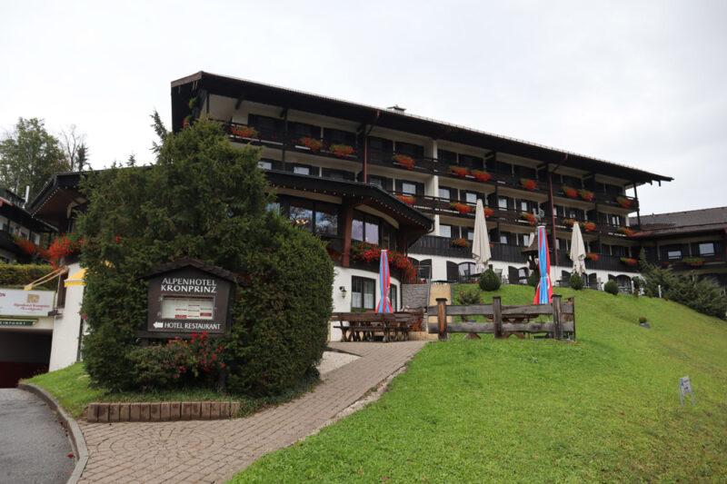 Berchtesgaden - Alpenhotel Kronprinz