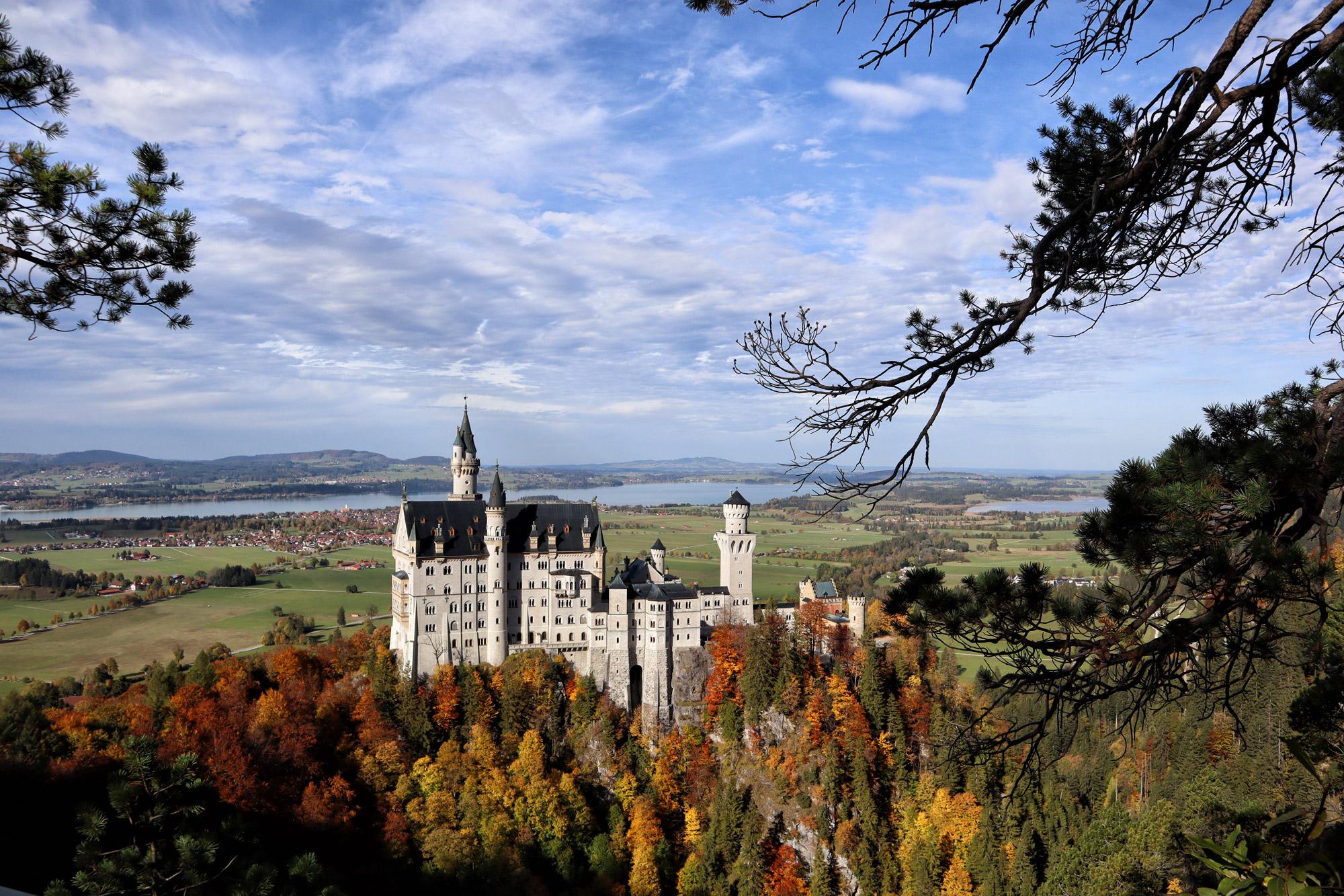 Foto van de maand Oktober 2020 - Schloss Neuschwanstein