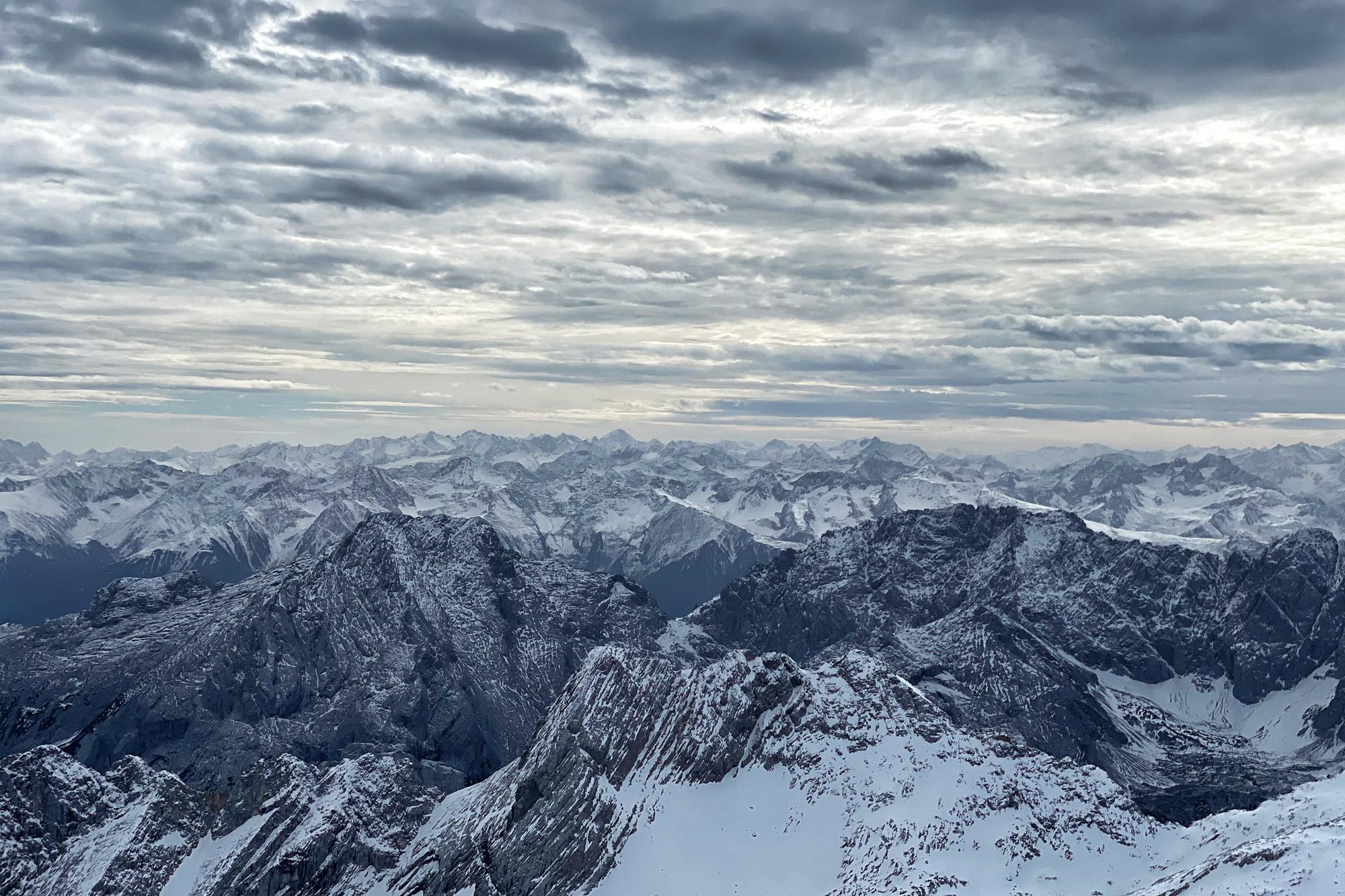 Foto van de maand Oktober 2020 - Zugspitze