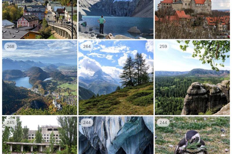De populairste Instagram foto's van Reizen & Reistips in 2020