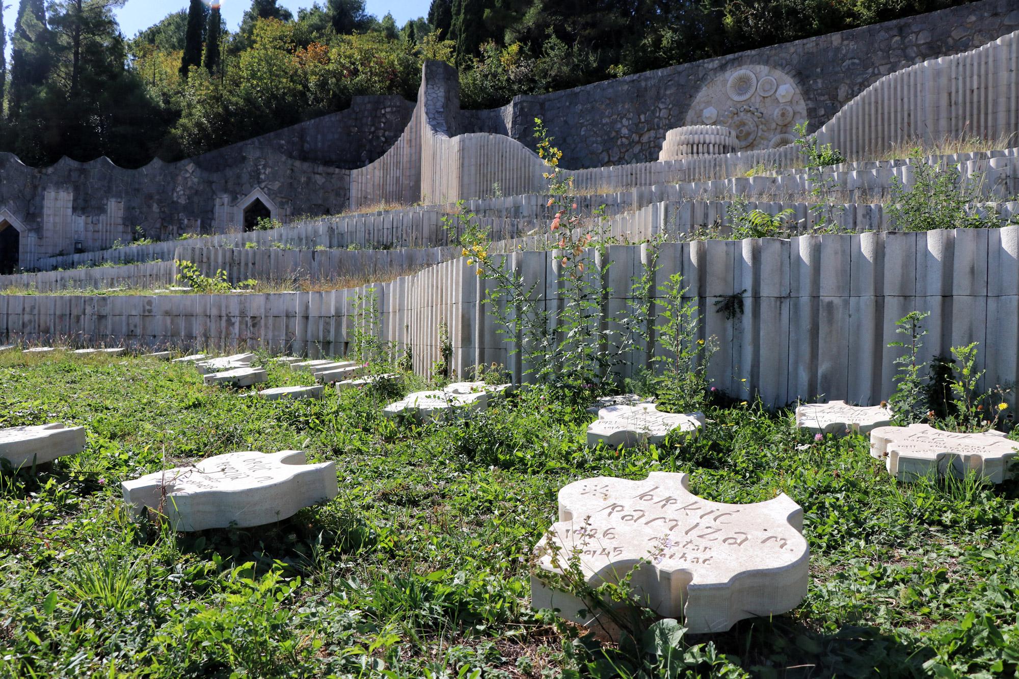 Doen in Mostar - Partizaanse Begraafplaats