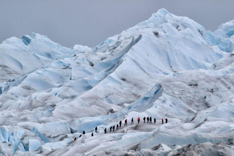 Een wandeling op het ijs van de Perito Moreno gletsjer - Argentinië