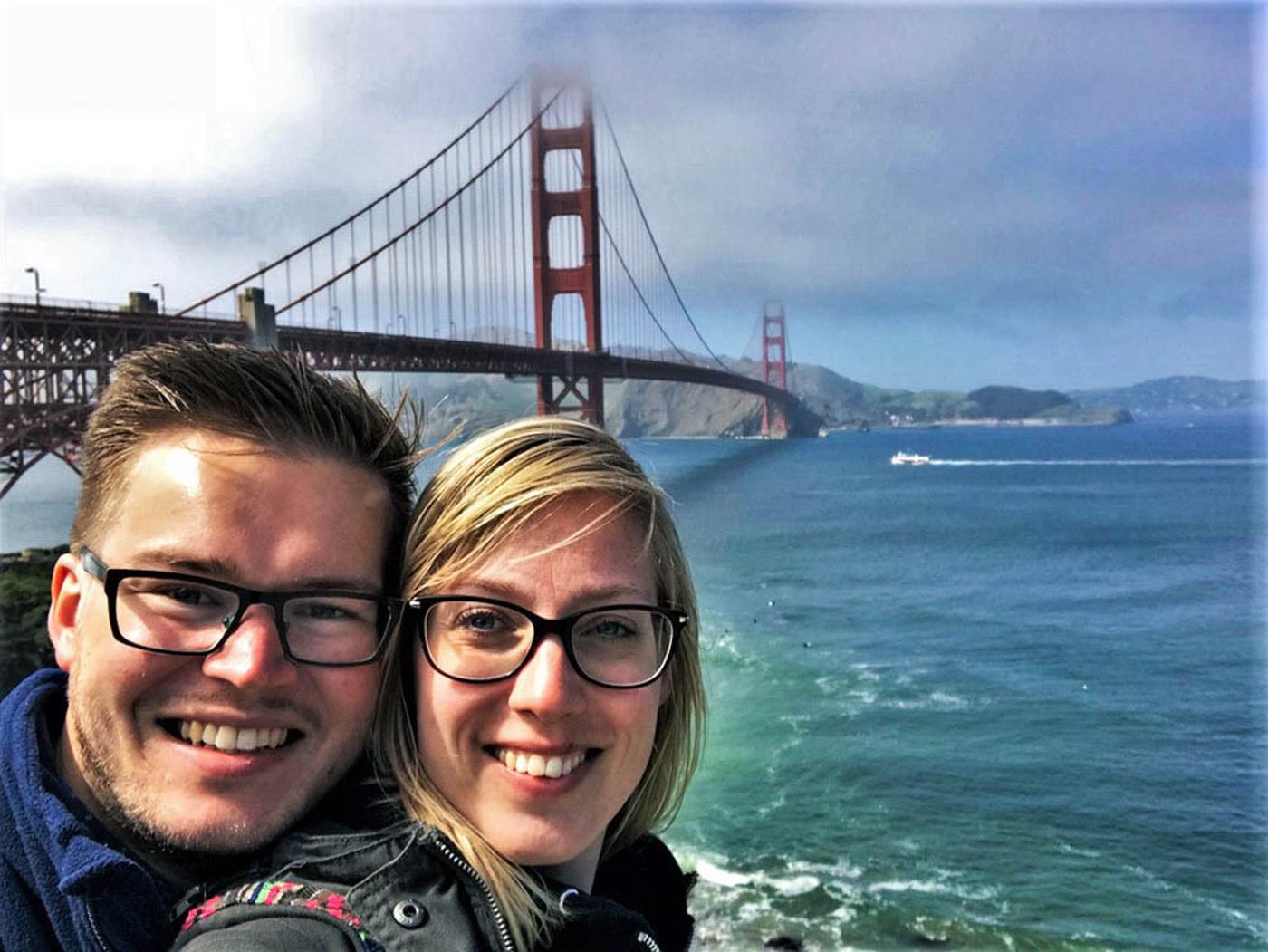 Karin: San Francisco Eindpunt rondreis