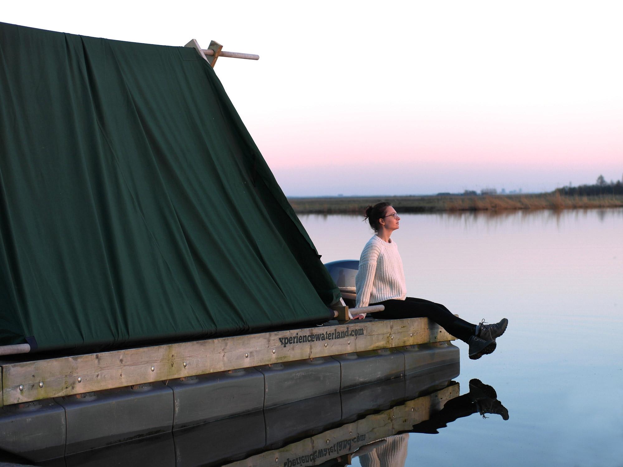 Janna - Kampeervlot in Waterland (c) Kerstin Beck
