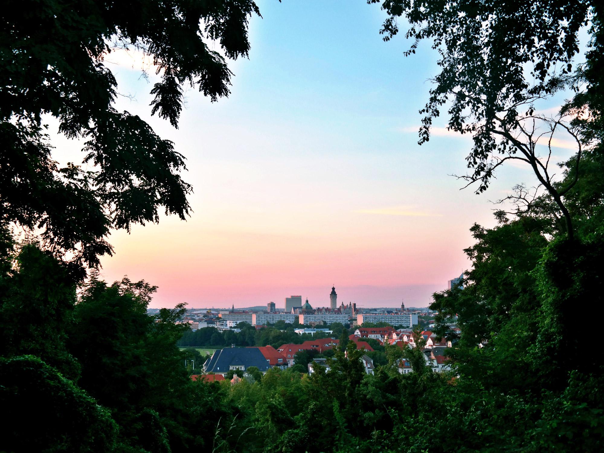 Janna - Leipzig vanaf de Fockeberg