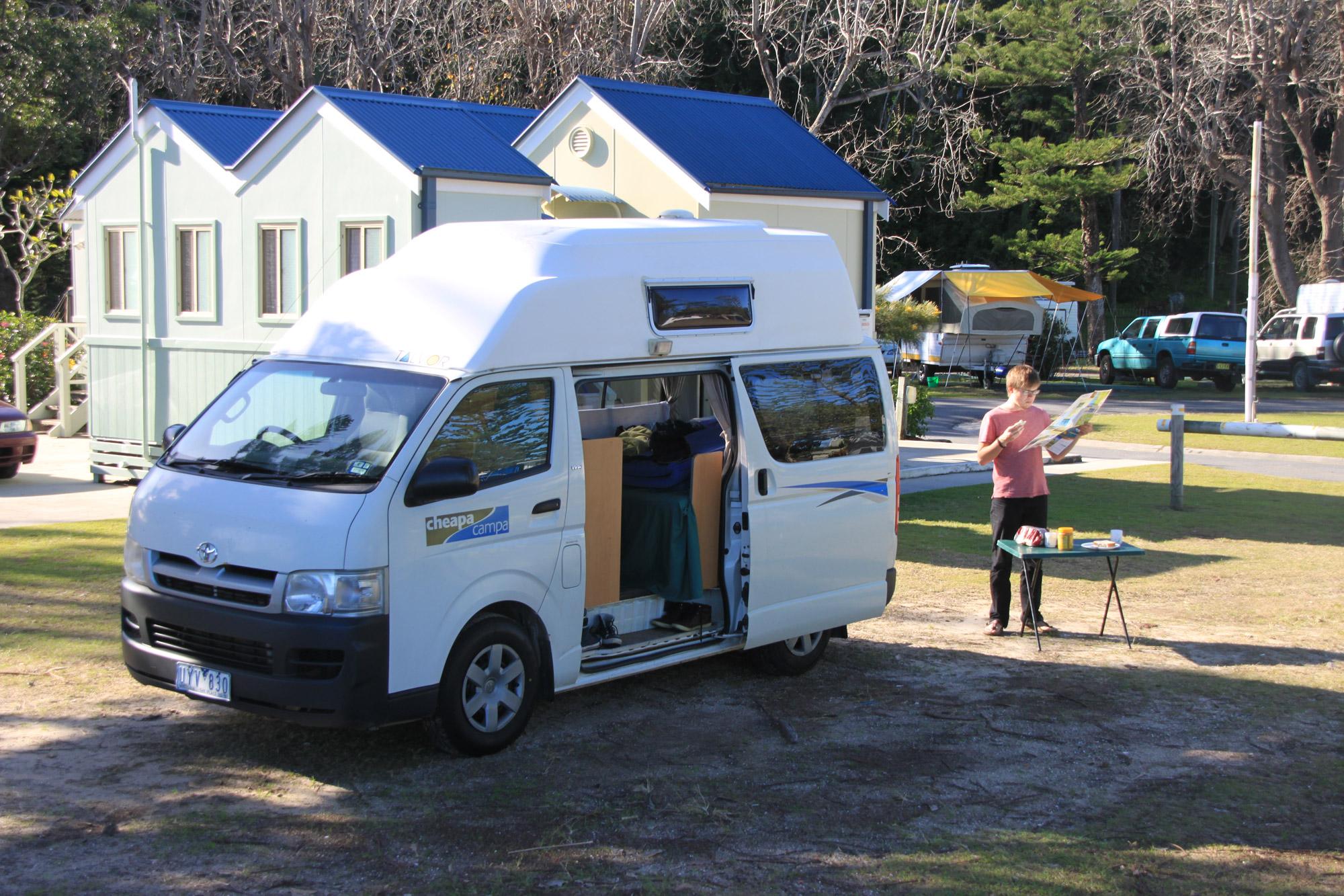 Karin: Met de camper door Australië