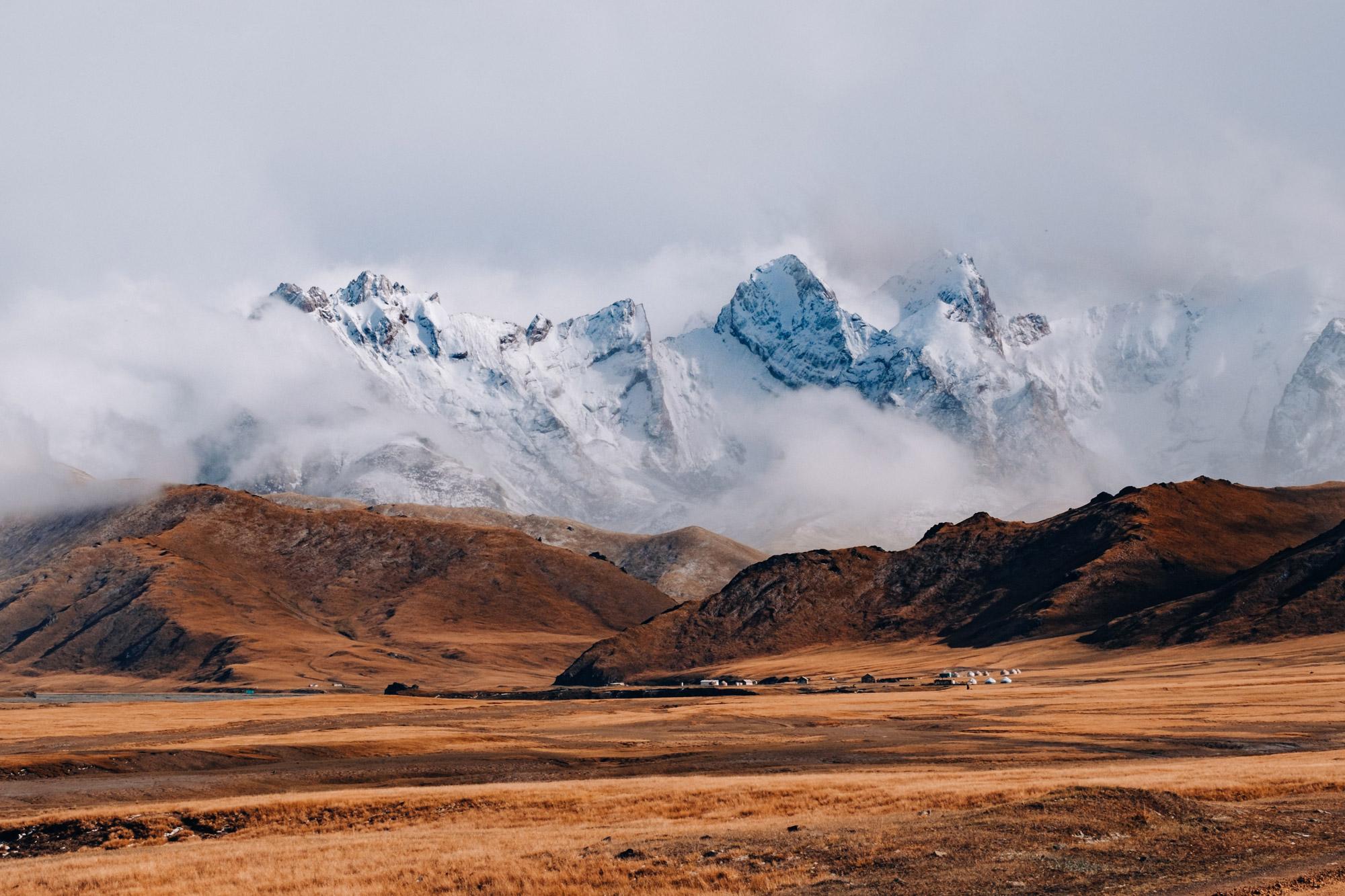 Binnenkort naar Kirgizië