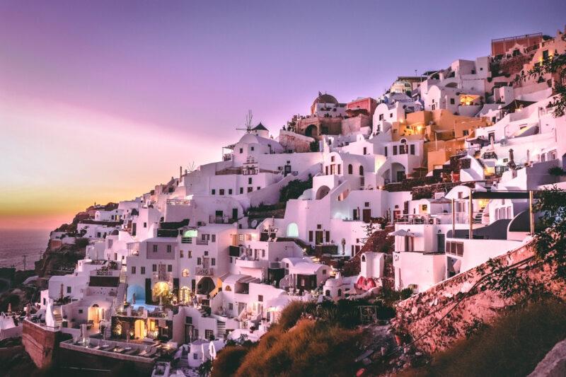 De mooiste Griekse eilanden - Santorini
