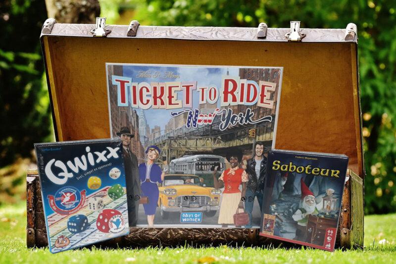 De leukste spelletjes voor in jouw reiskoffer