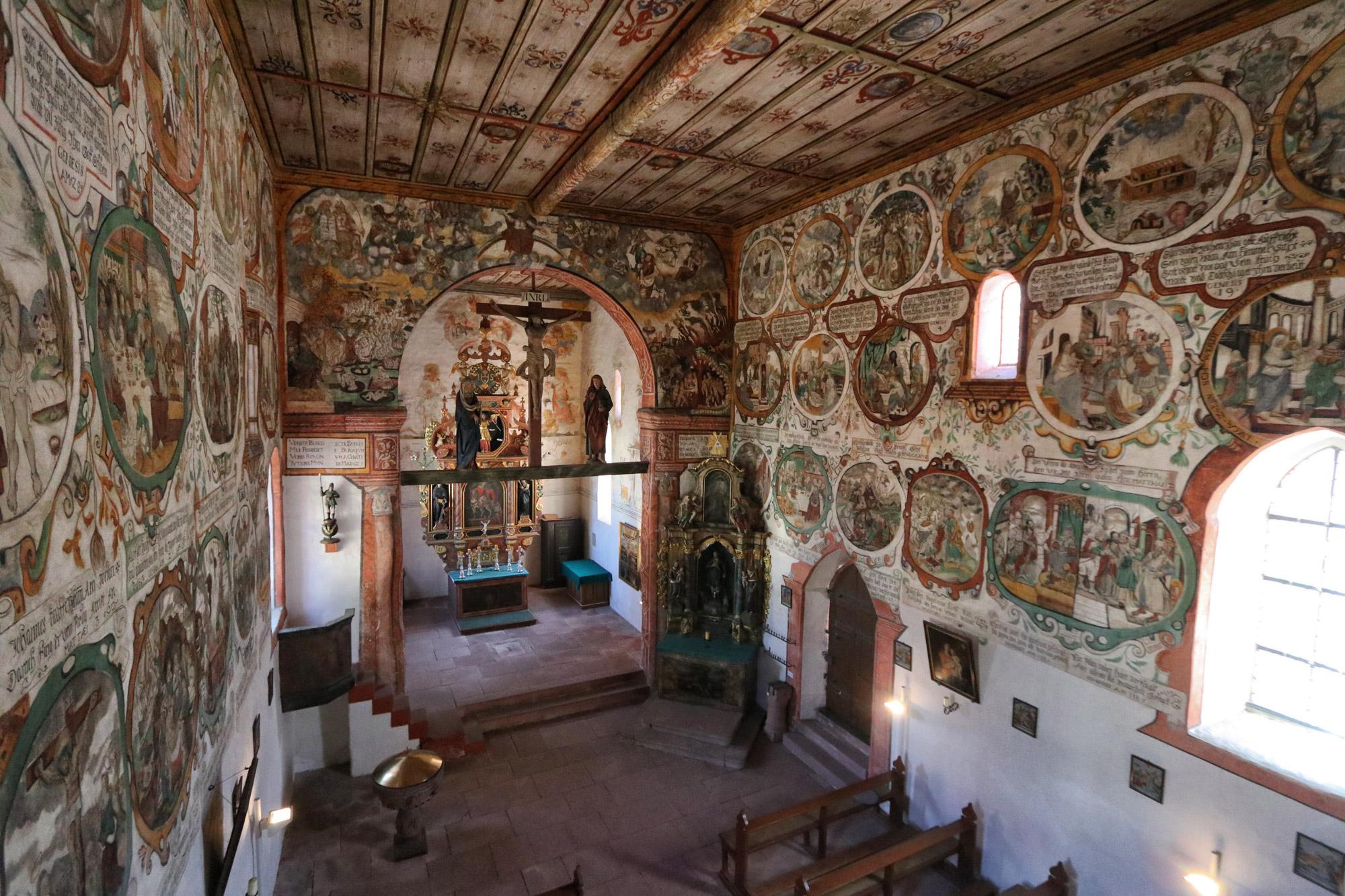 Churfranken - Martinskapelle in Bürgstadt