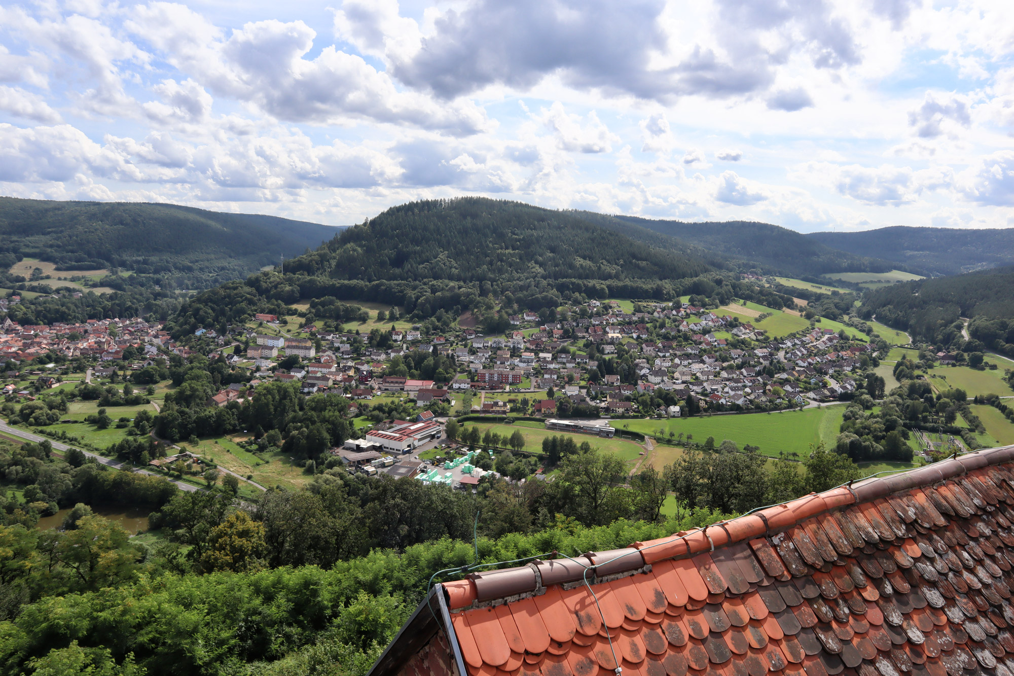 Churfranken - Gotthardsruïne