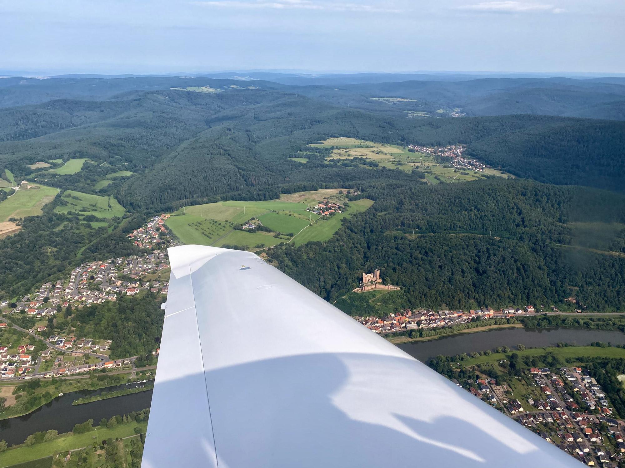 Churfranken - Vliegen over Churfranken