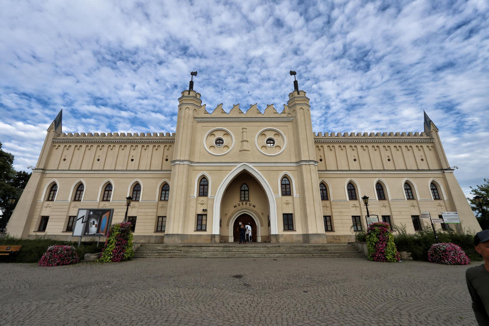 Lubelskie regio - Lublin Kasteel