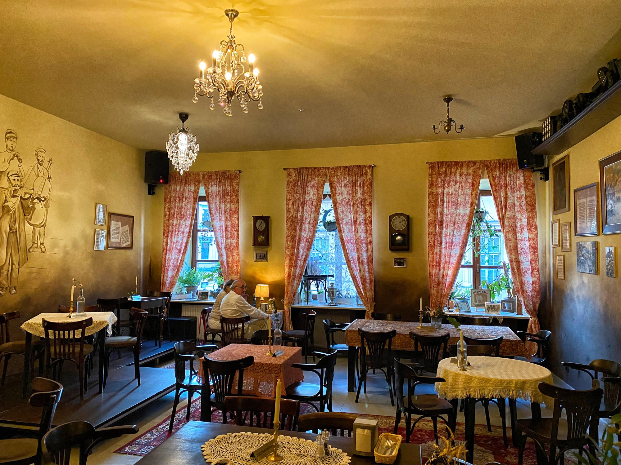 Lubelskie regio - Lublin Mandragora Restaurant