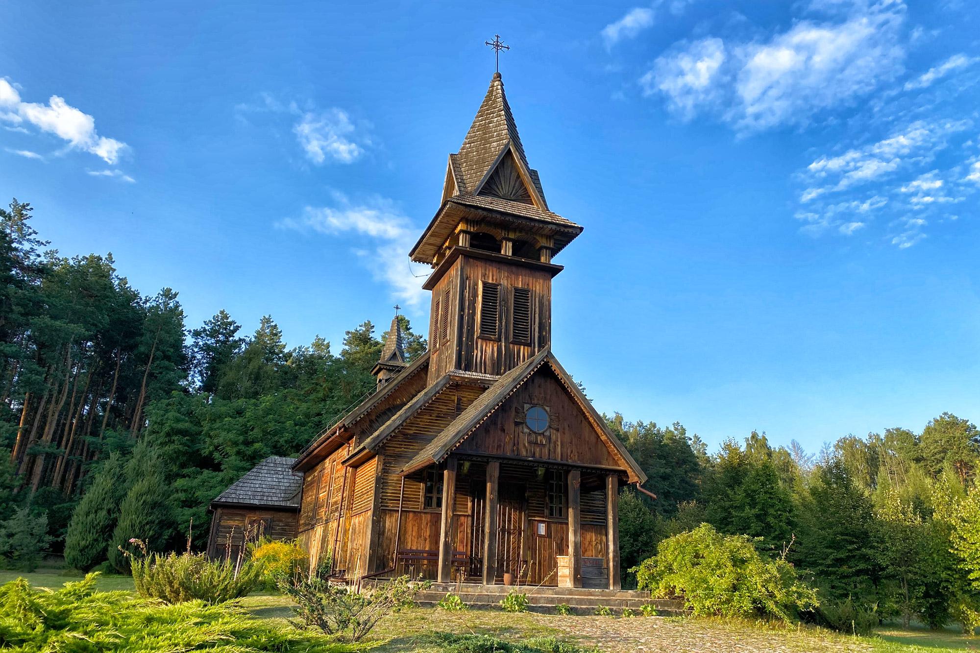 Lubelskie regio - Uroczysko Zaborek Guesthouse