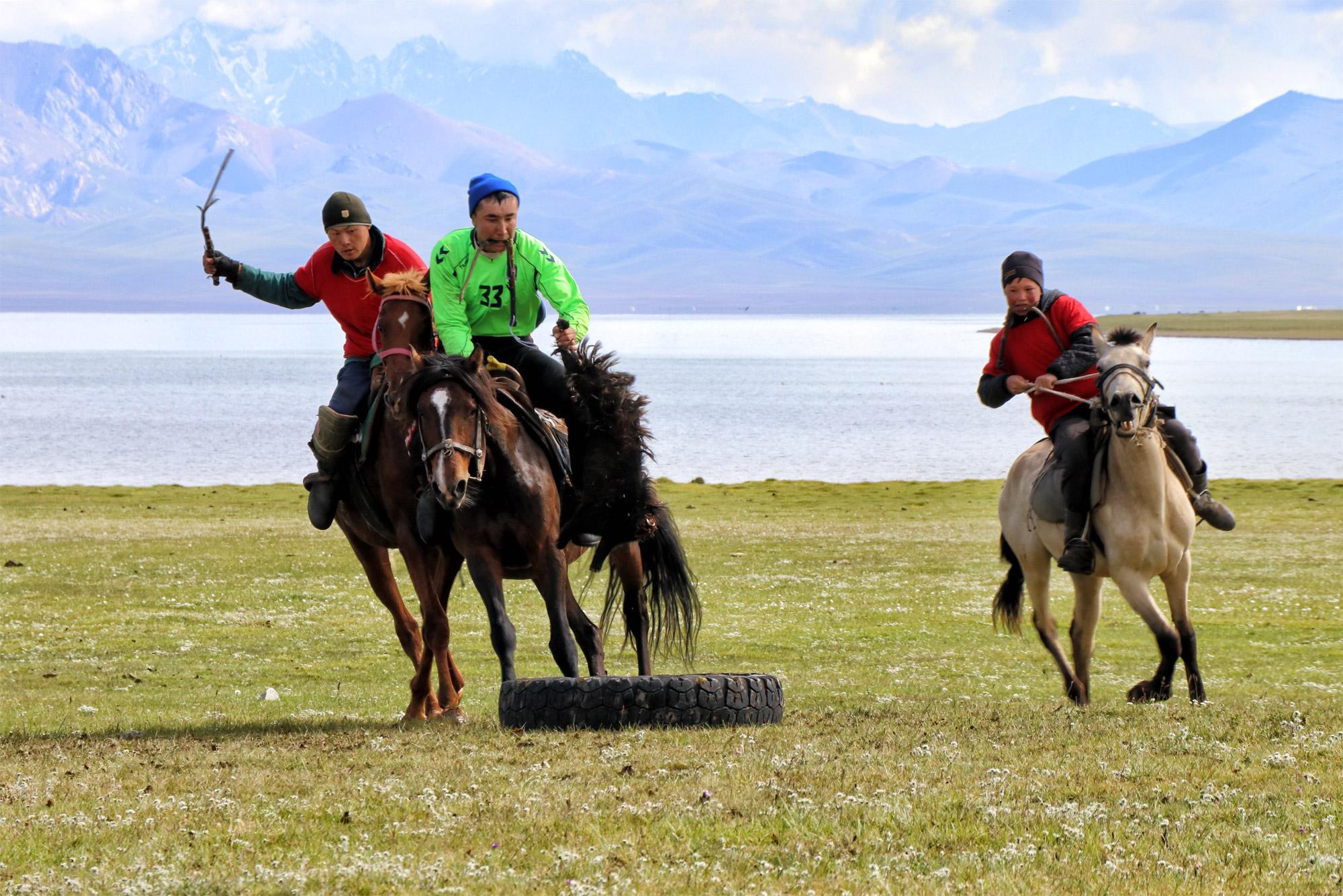 Reisroute Kirgizië - Kok Boru