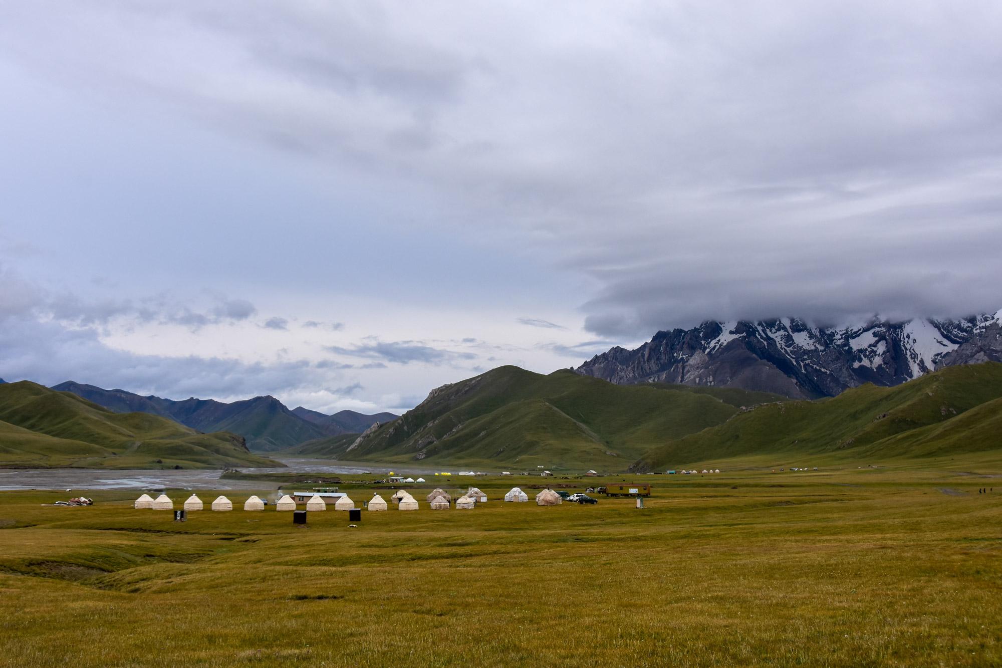 Reisroute Kirgizië - Kel Suu
