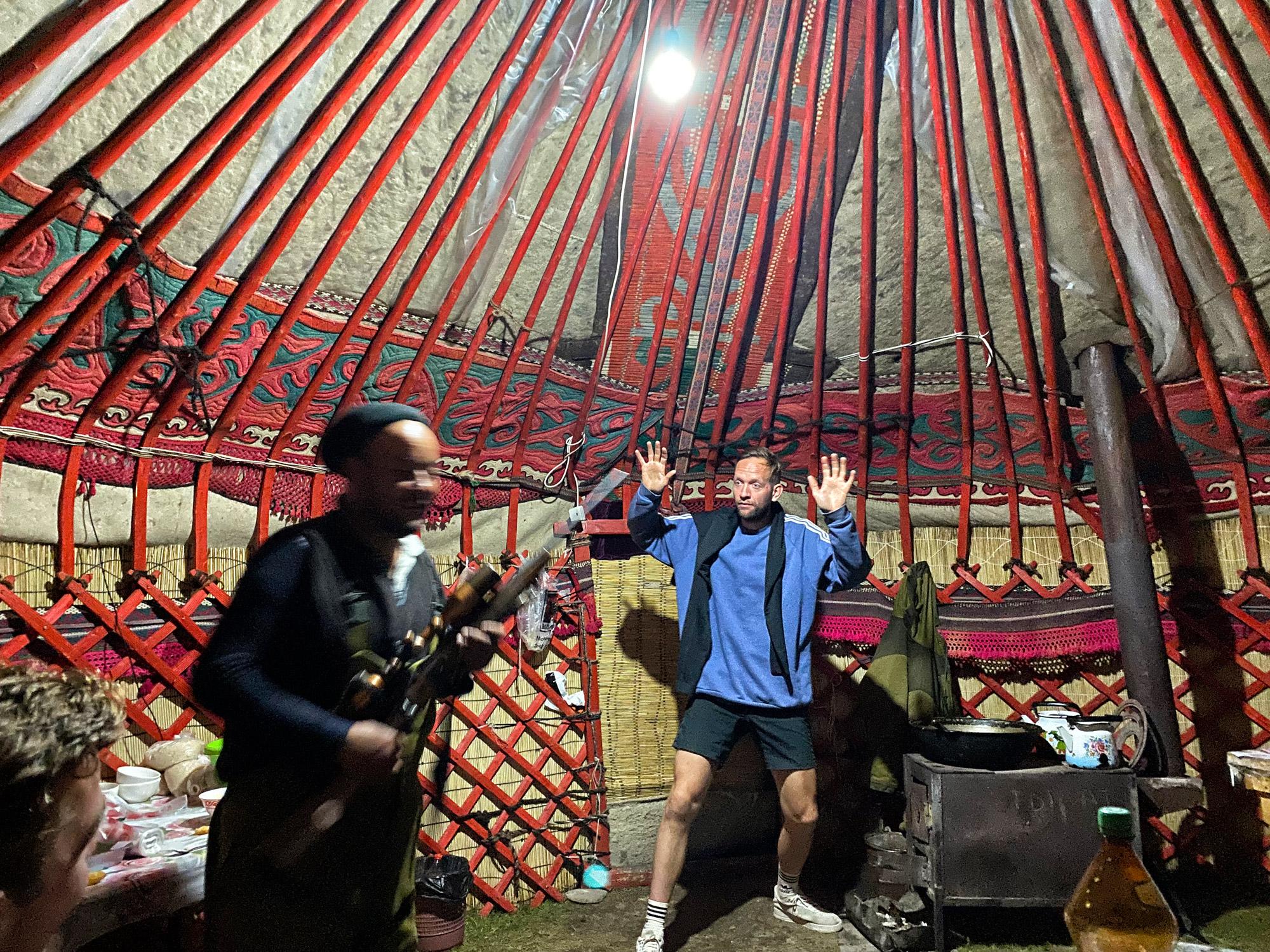 Reisroute Kirgizië - Kell Suu