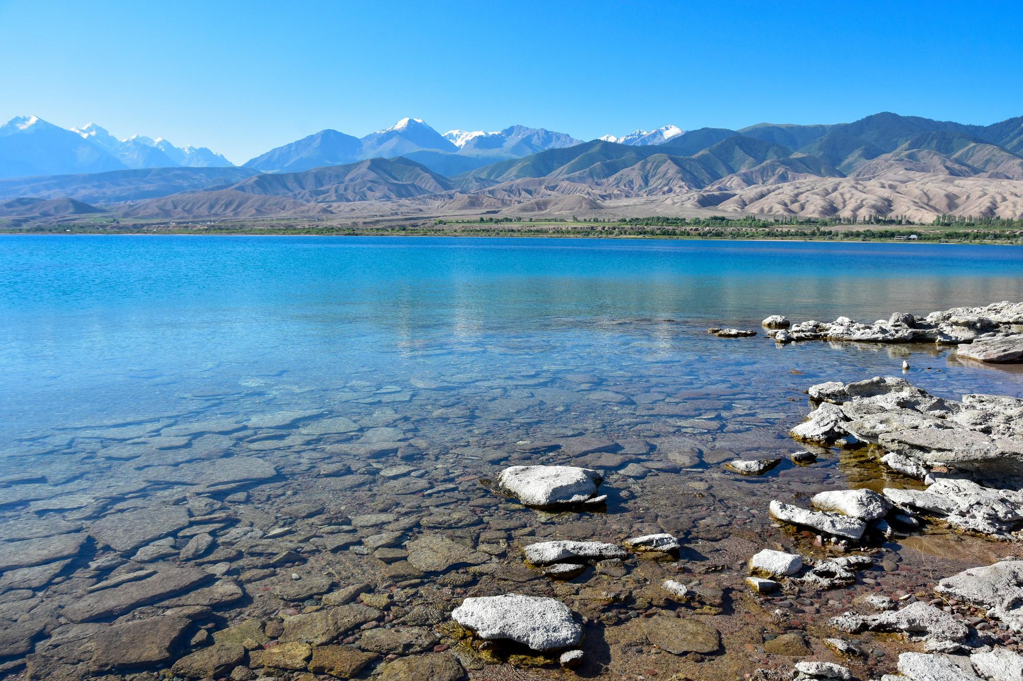 Reisroute Kirgizië - Issyk Kul