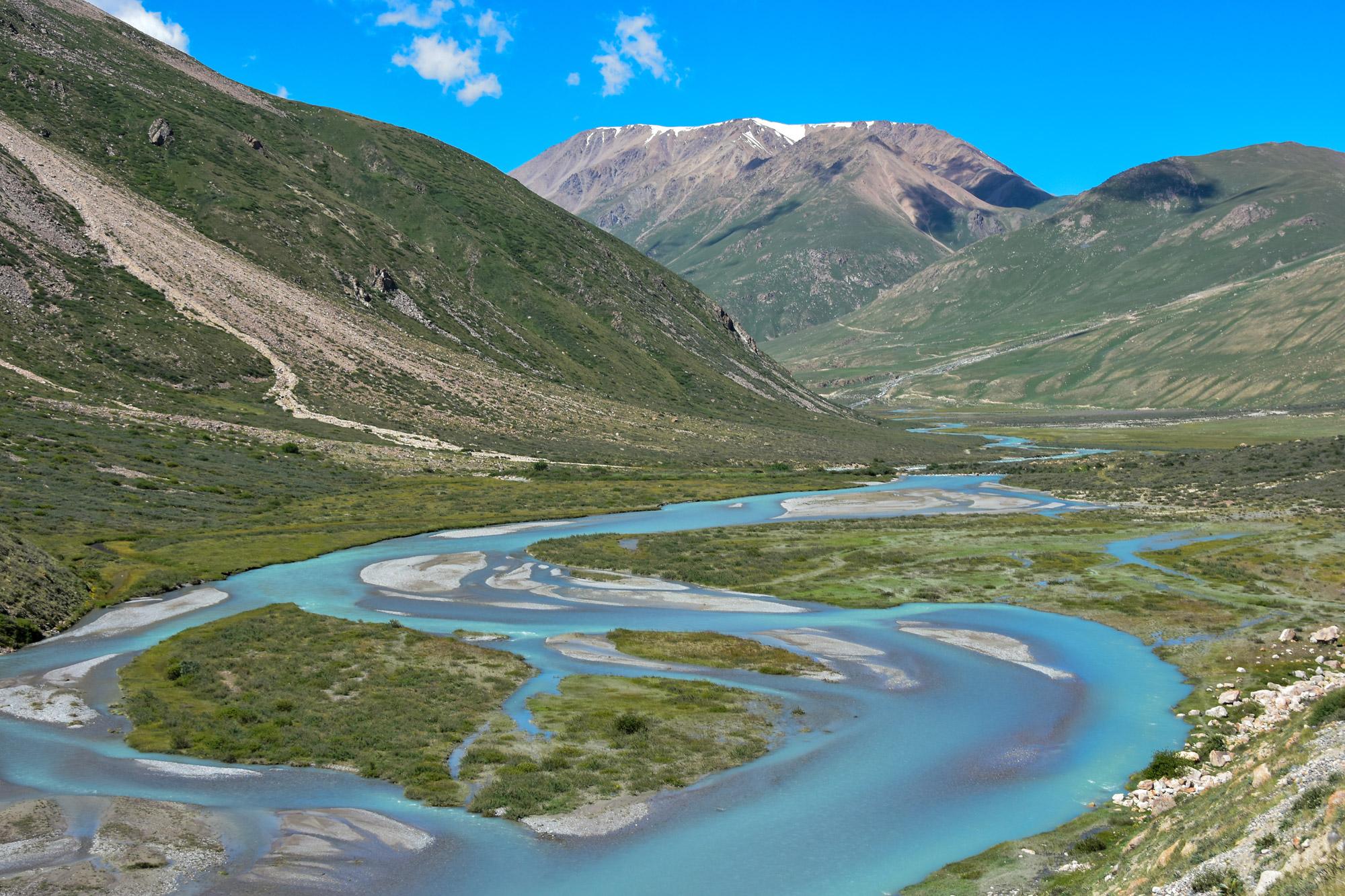 Reisroute Kirgizië - Tosor Pass