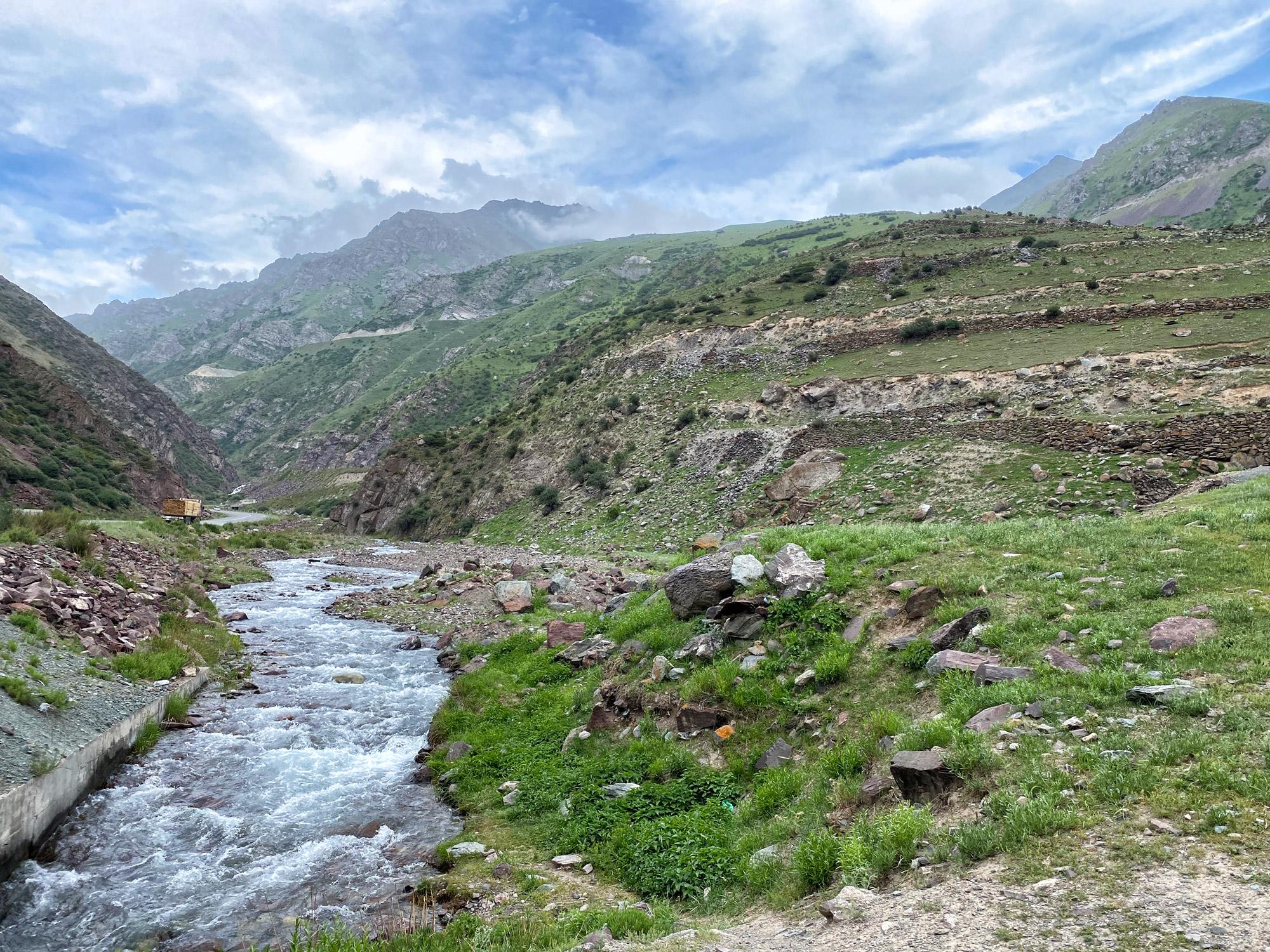 Reisroute Kirgizië - Too Ashuu