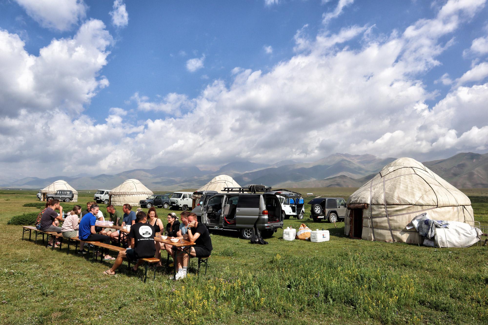 Reisroute Kirgizië - Suusamyr