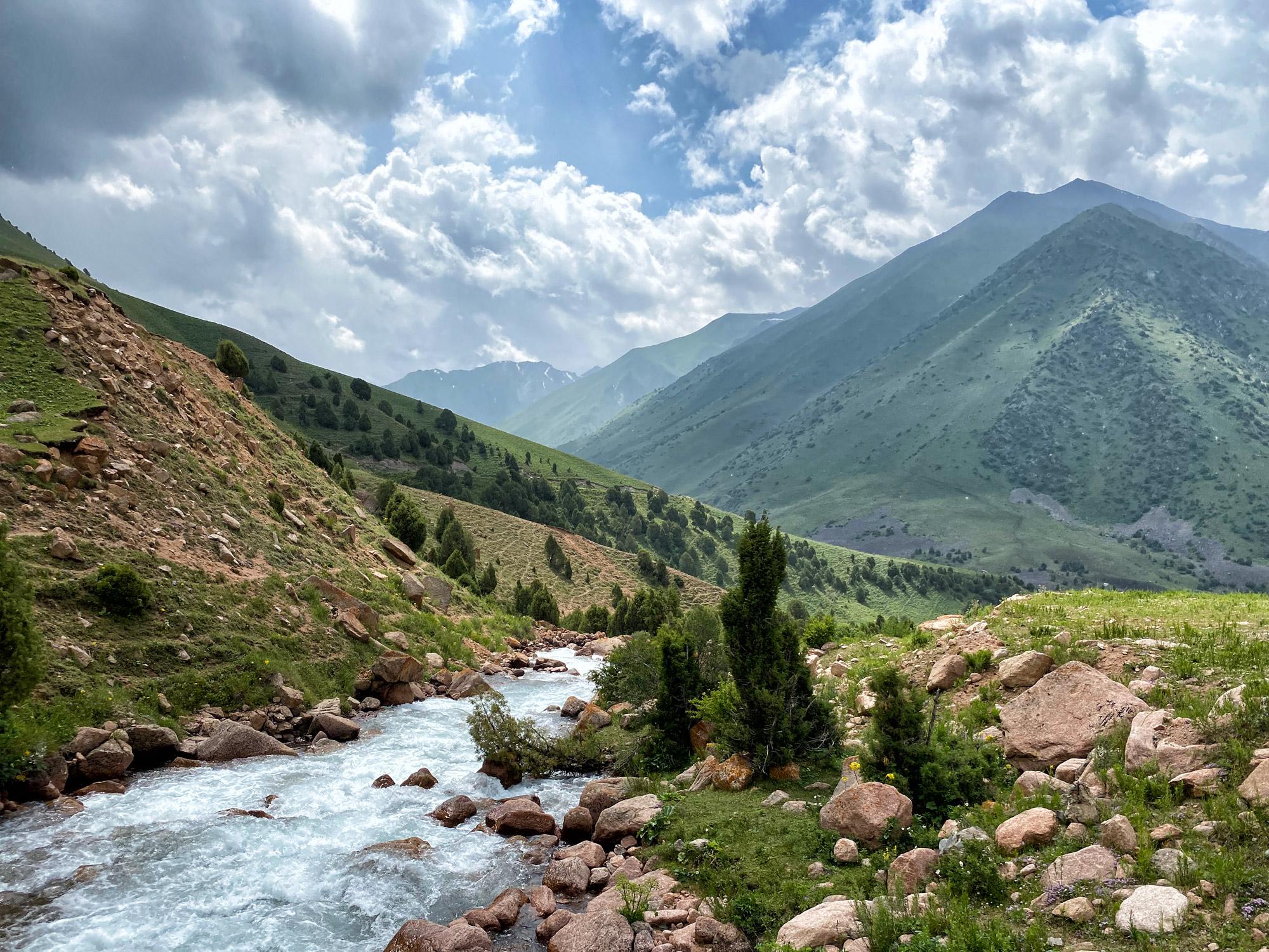 Reisroute Kirgizië - Talas Ala Too