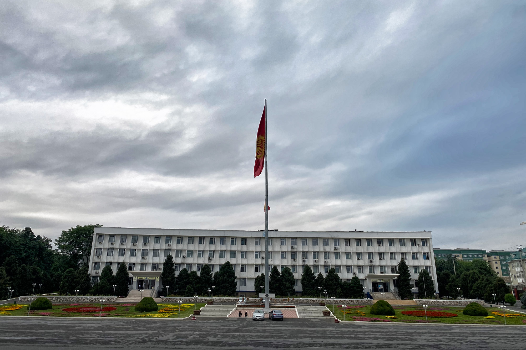 Reisroute Kirgizië - Osh