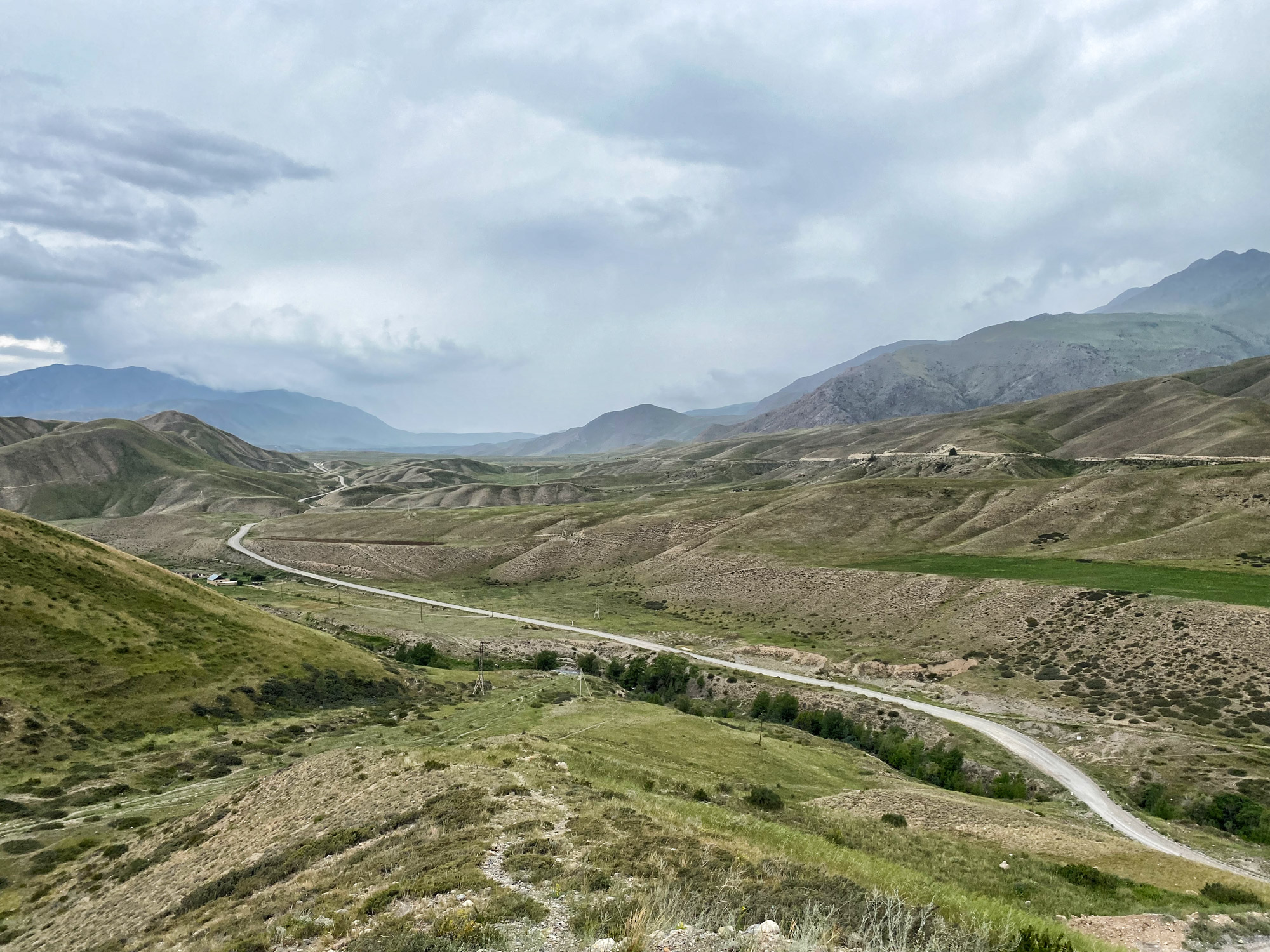 Reisroute Kirgizië - Naar Song Kul